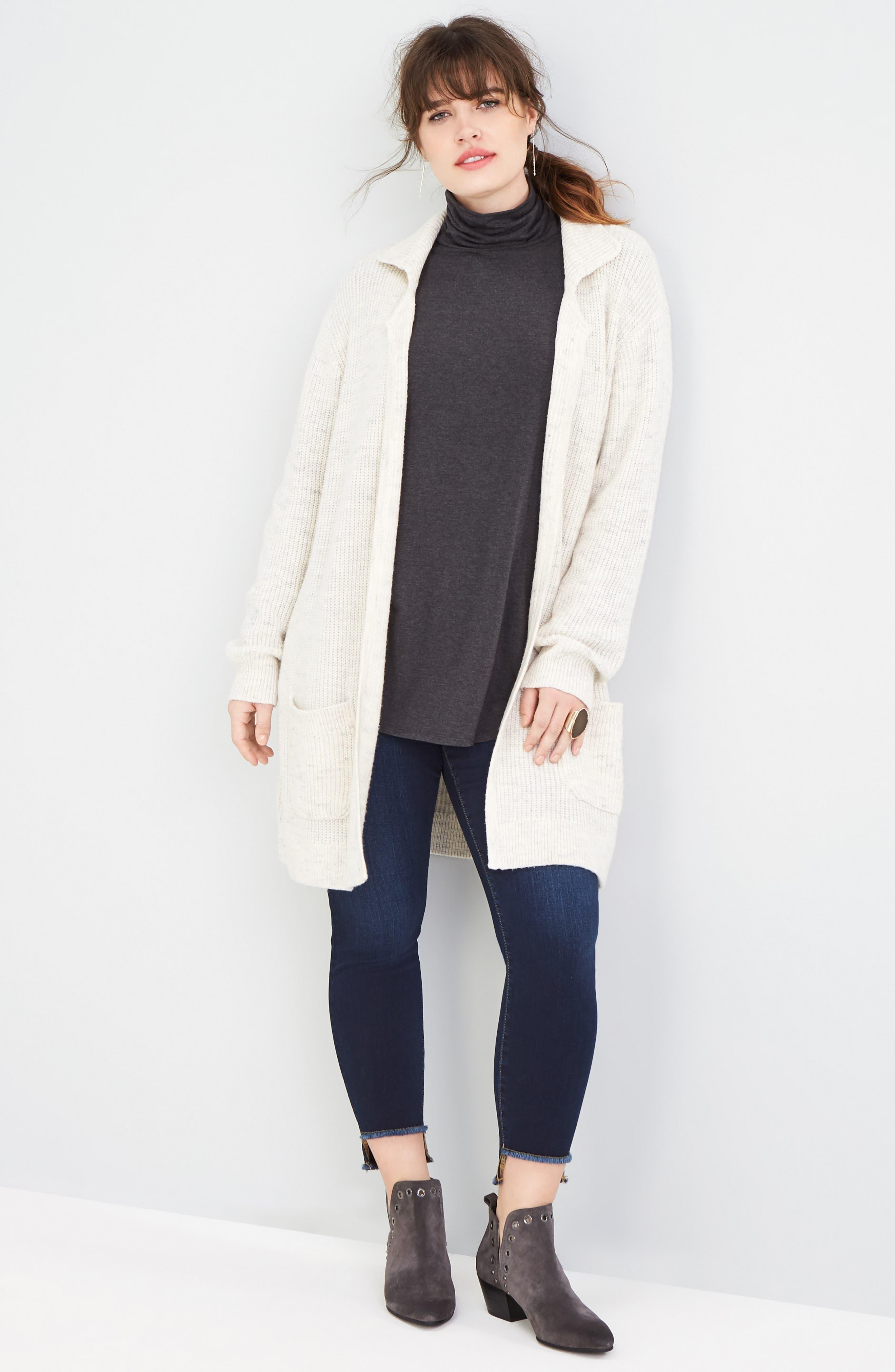 SLINK JEANS 'The Skinny' Stretch Denim Jeans, Main, color, AMBER