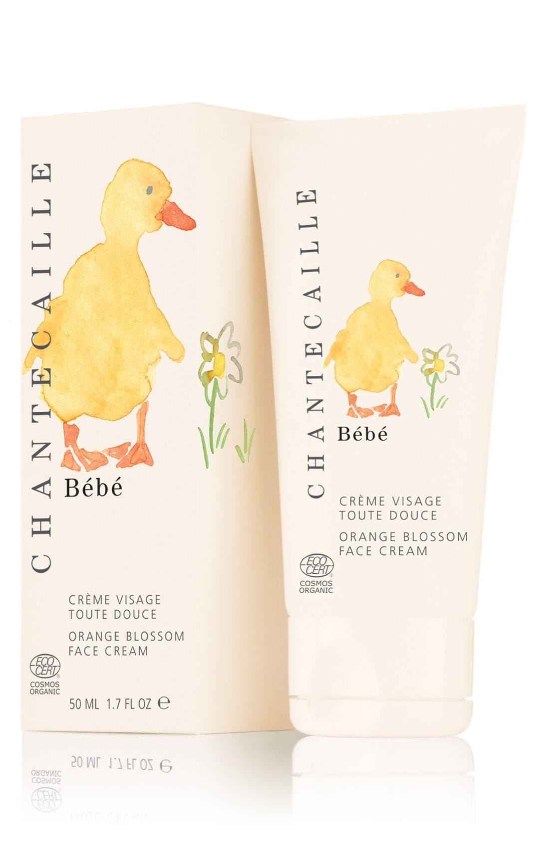 CHANTECAILLE, Bébé Orange Blossom Face Cream, Alternate thumbnail 3, color, NO COLOR