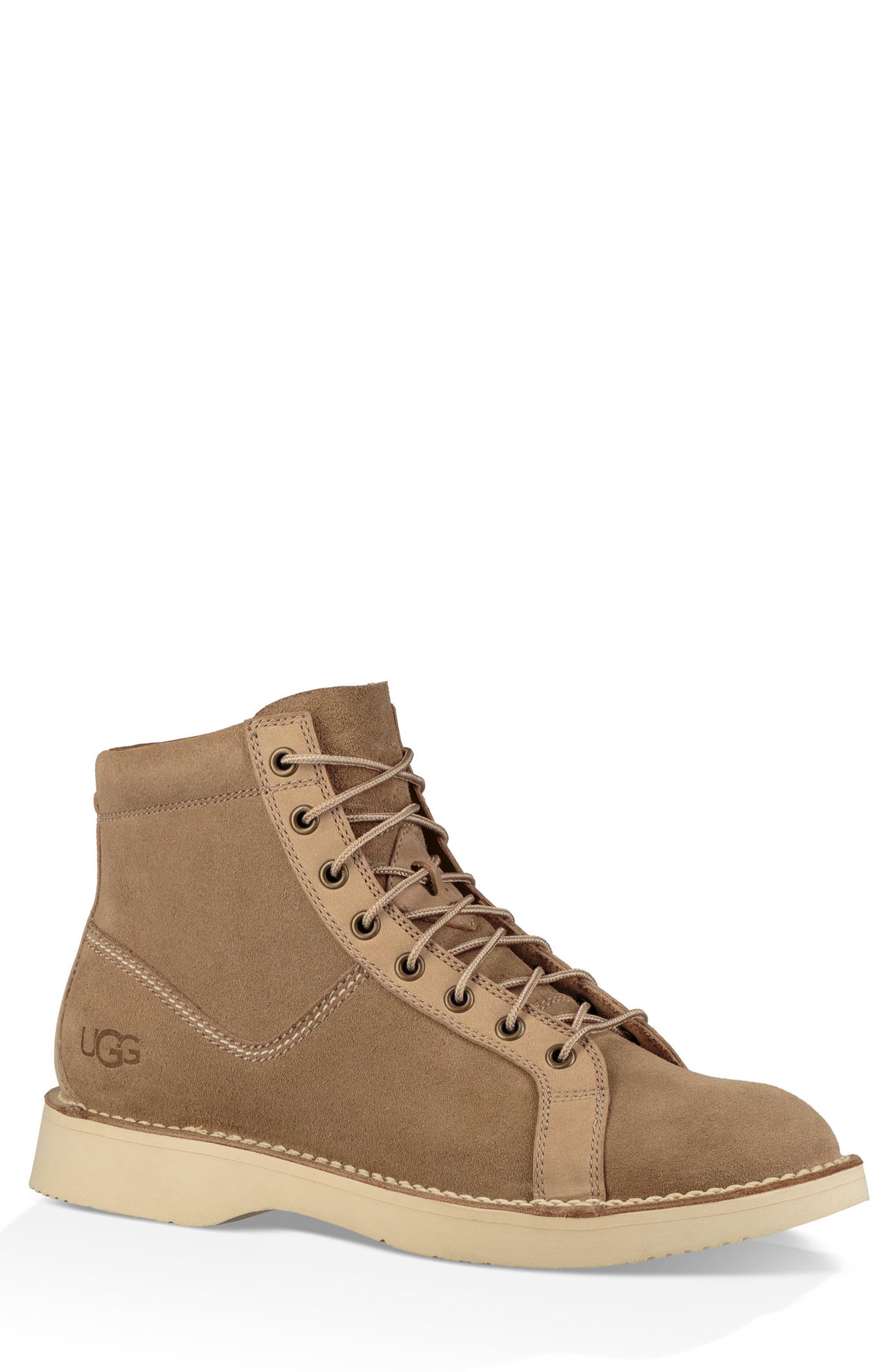 Ugg Camino Plain Toe Boot- Brown