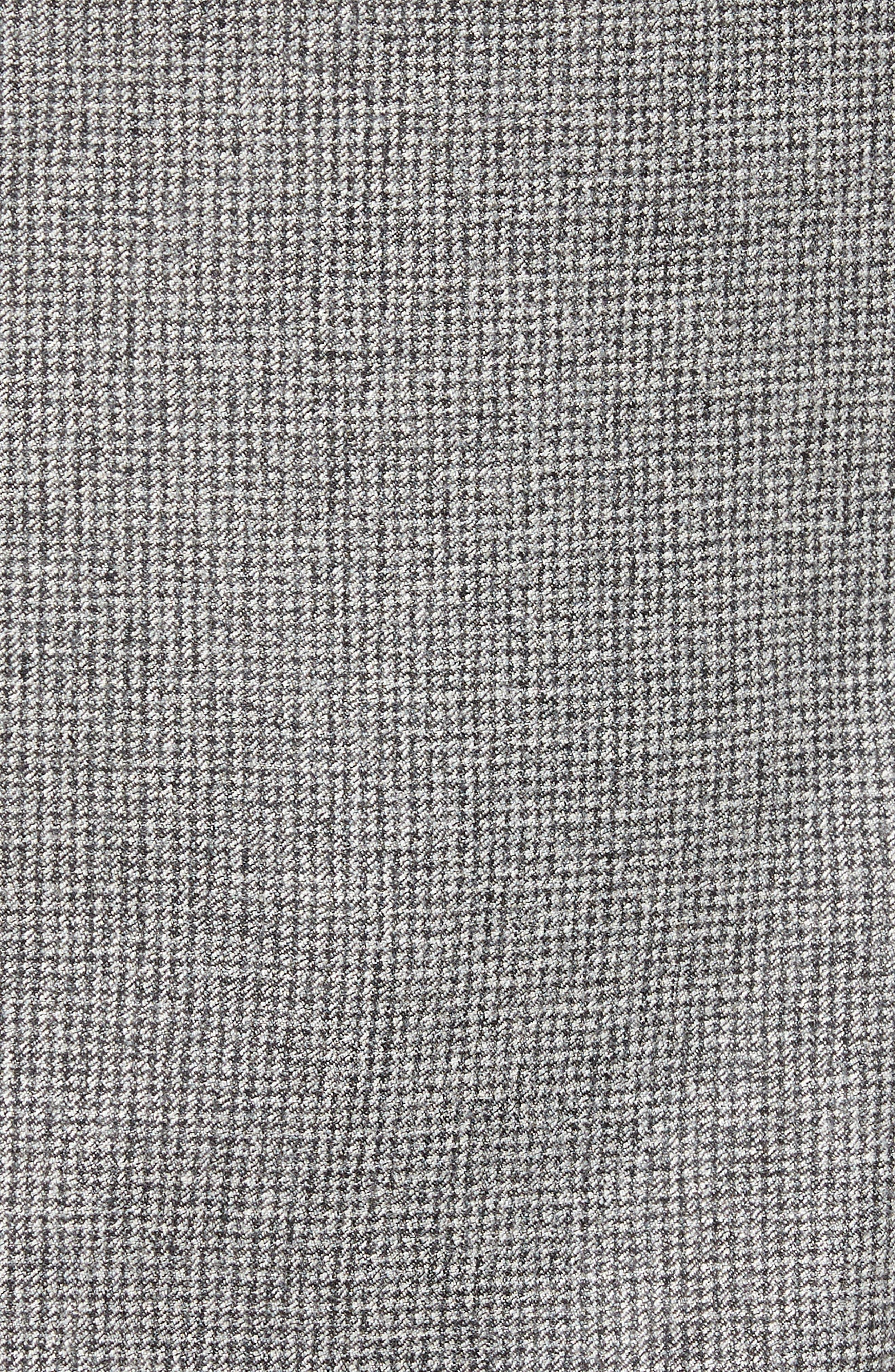 L.B.M. 1911, L.B.M 1911 Classic Fit Check Wool Sport Coat, Alternate thumbnail 6, color, GREY