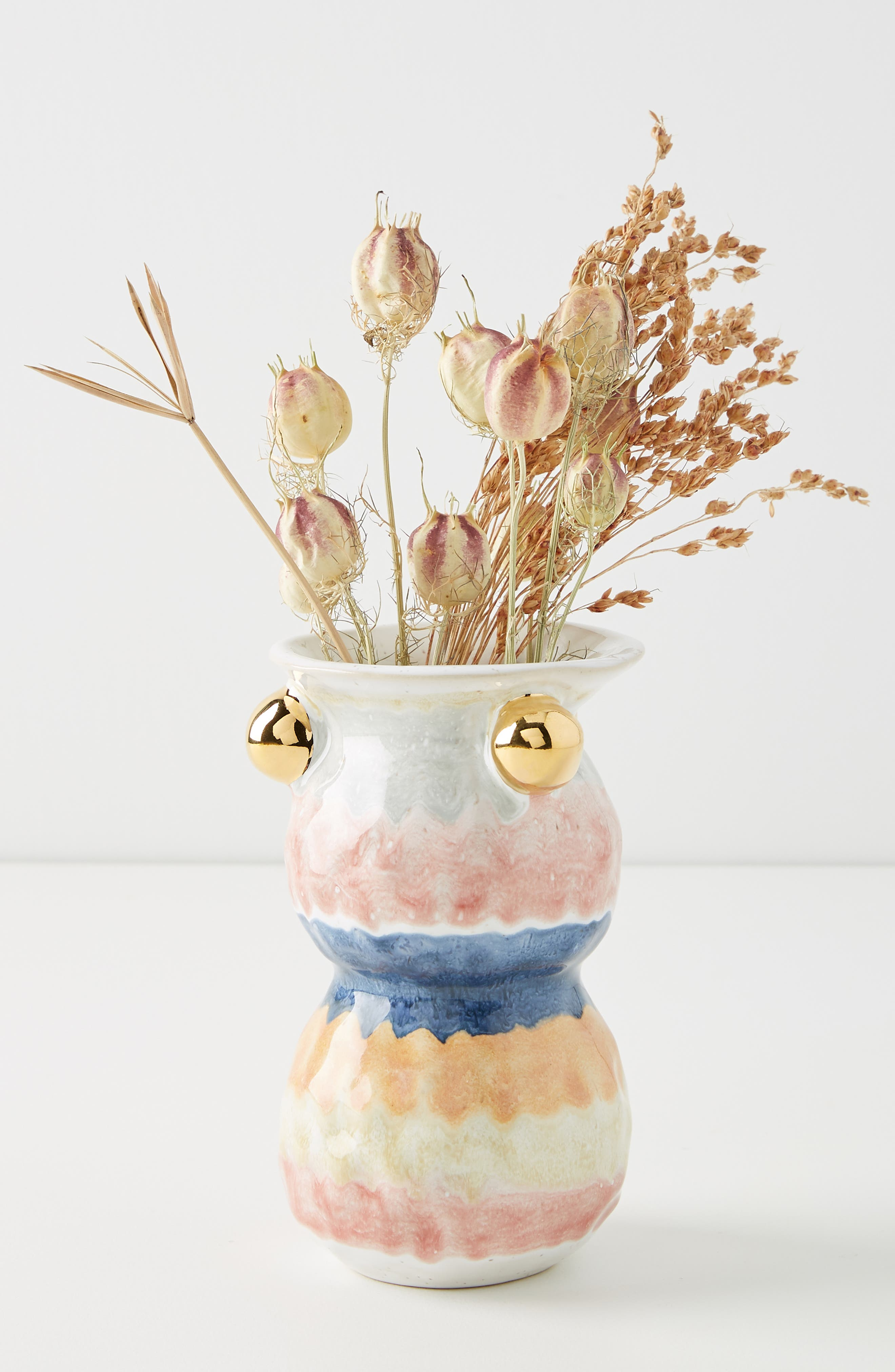 ANTHROPOLOGIE, Object Enthusiast Vase, Alternate thumbnail 5, color, MULTI-SMALL