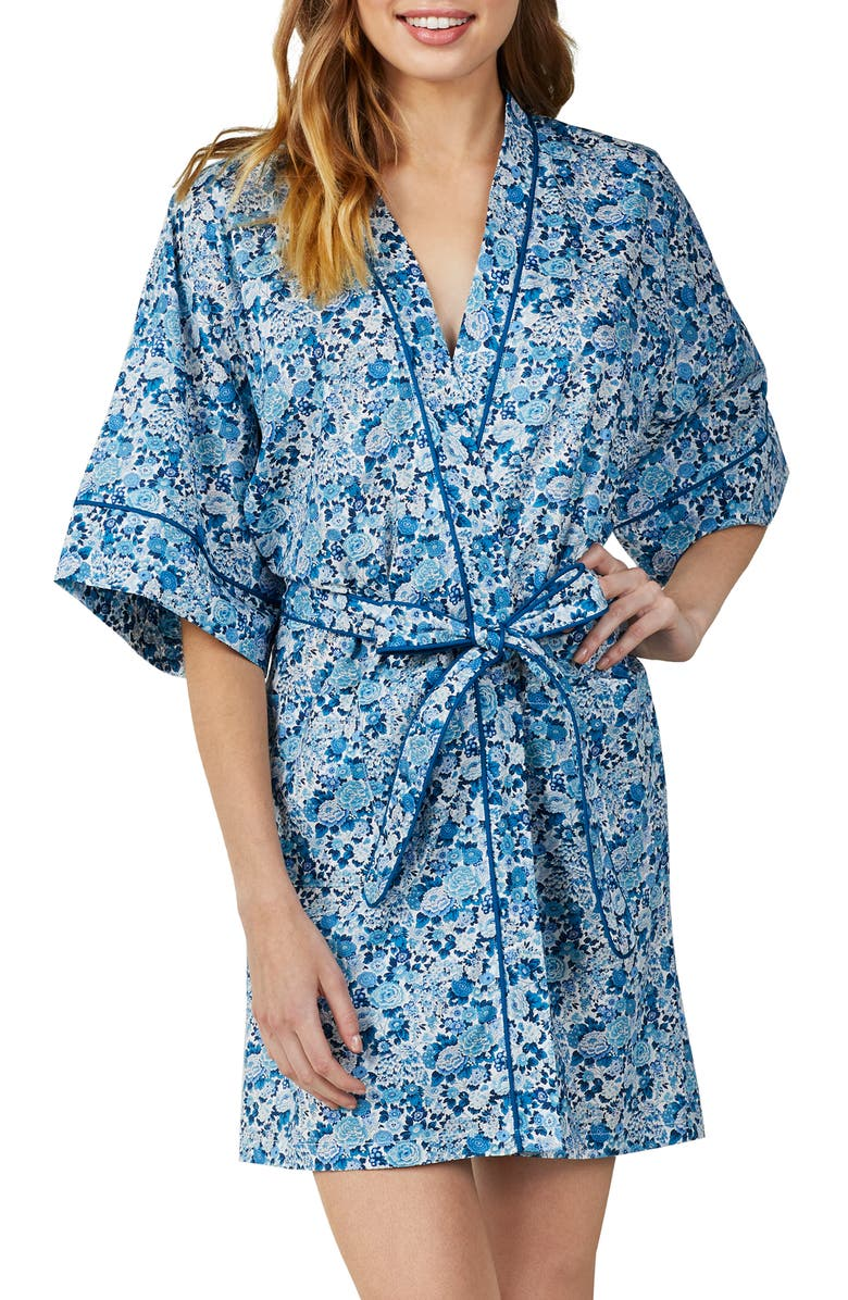 Bedhead Tops FLORAL PRINT ROBE