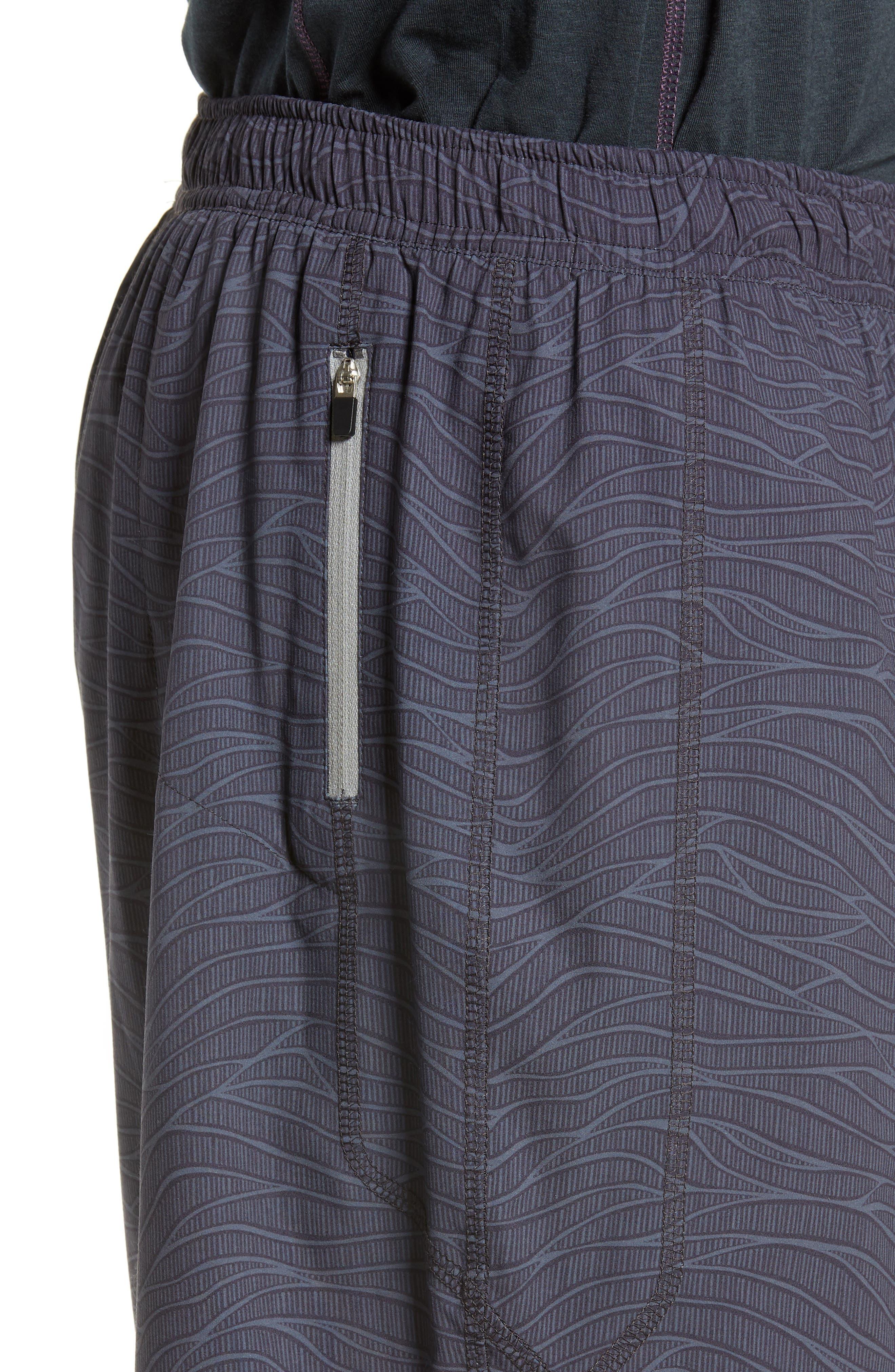 TASC PERFORMANCE, Propulsion Athletic Shorts, Alternate thumbnail 5, color, BLACK SONIC WAVE