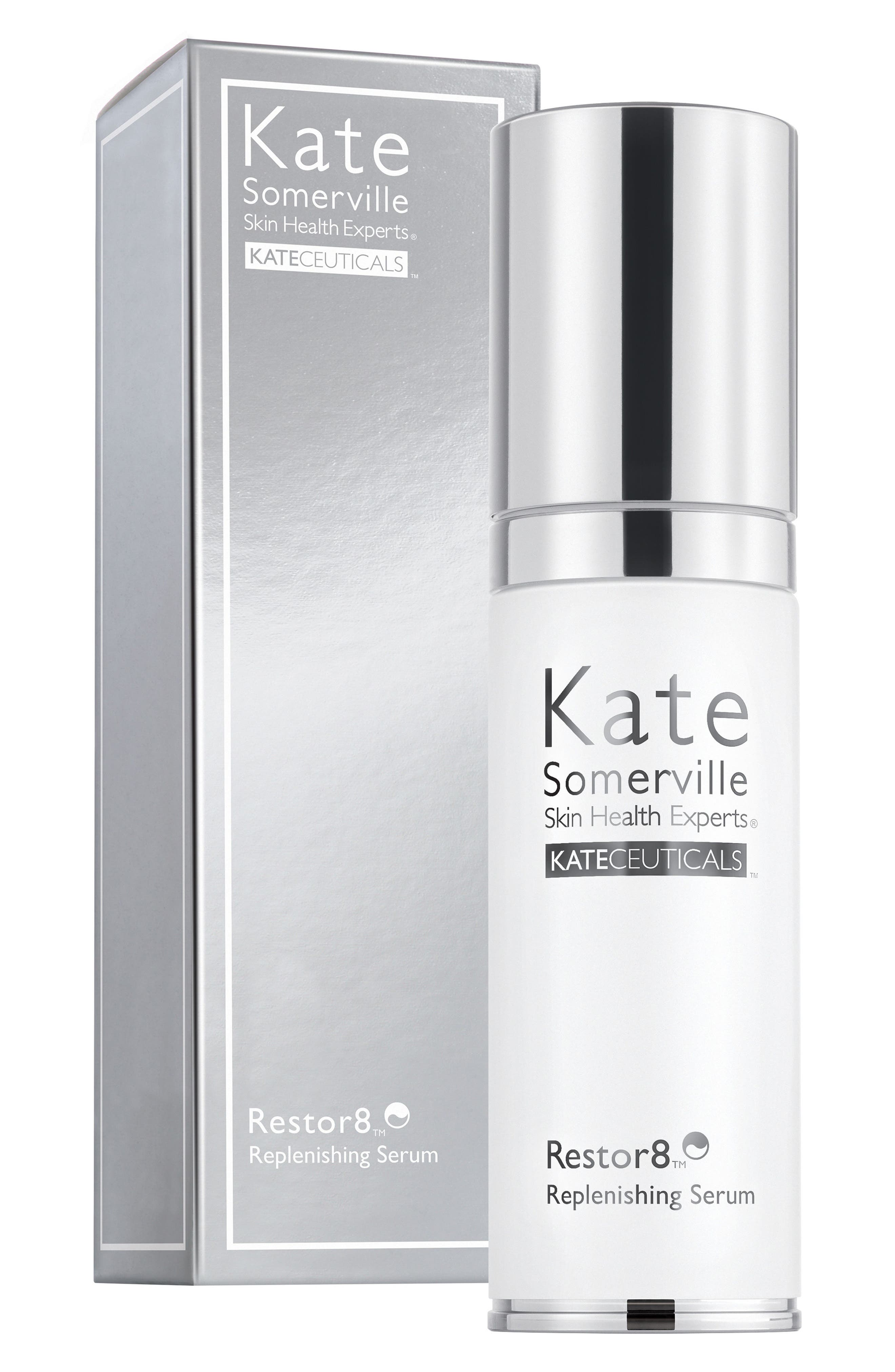 KATE SOMERVILLE<SUP>®</SUP>, 'KateCeuticals<sup>™</sup>' Restor8 Replenishing Serum, Alternate thumbnail 4, color, NO COLOR