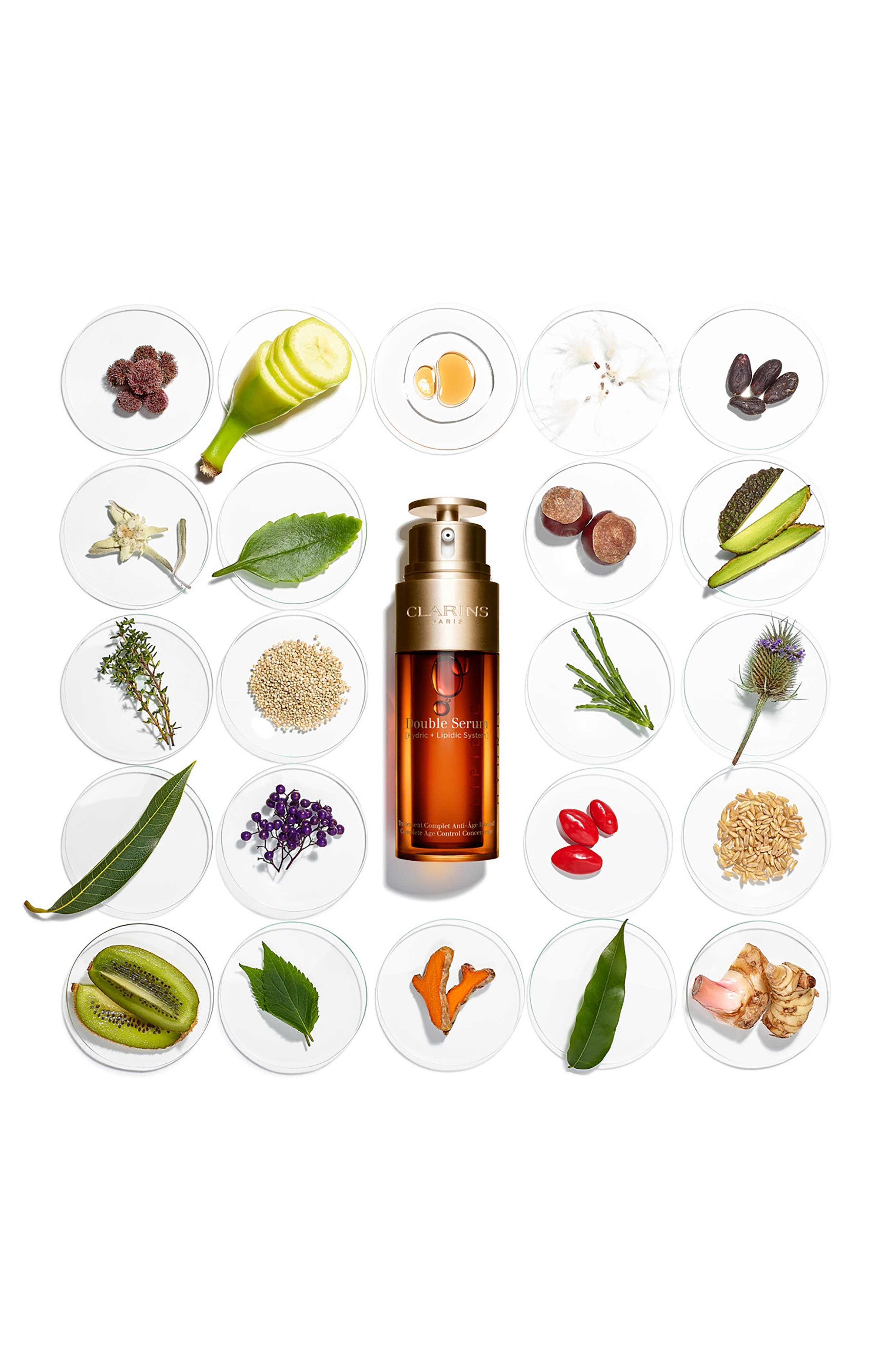 CLARINS, Double Serum Complete Age Control Concentrate, Alternate thumbnail 7, color, NO COLOR