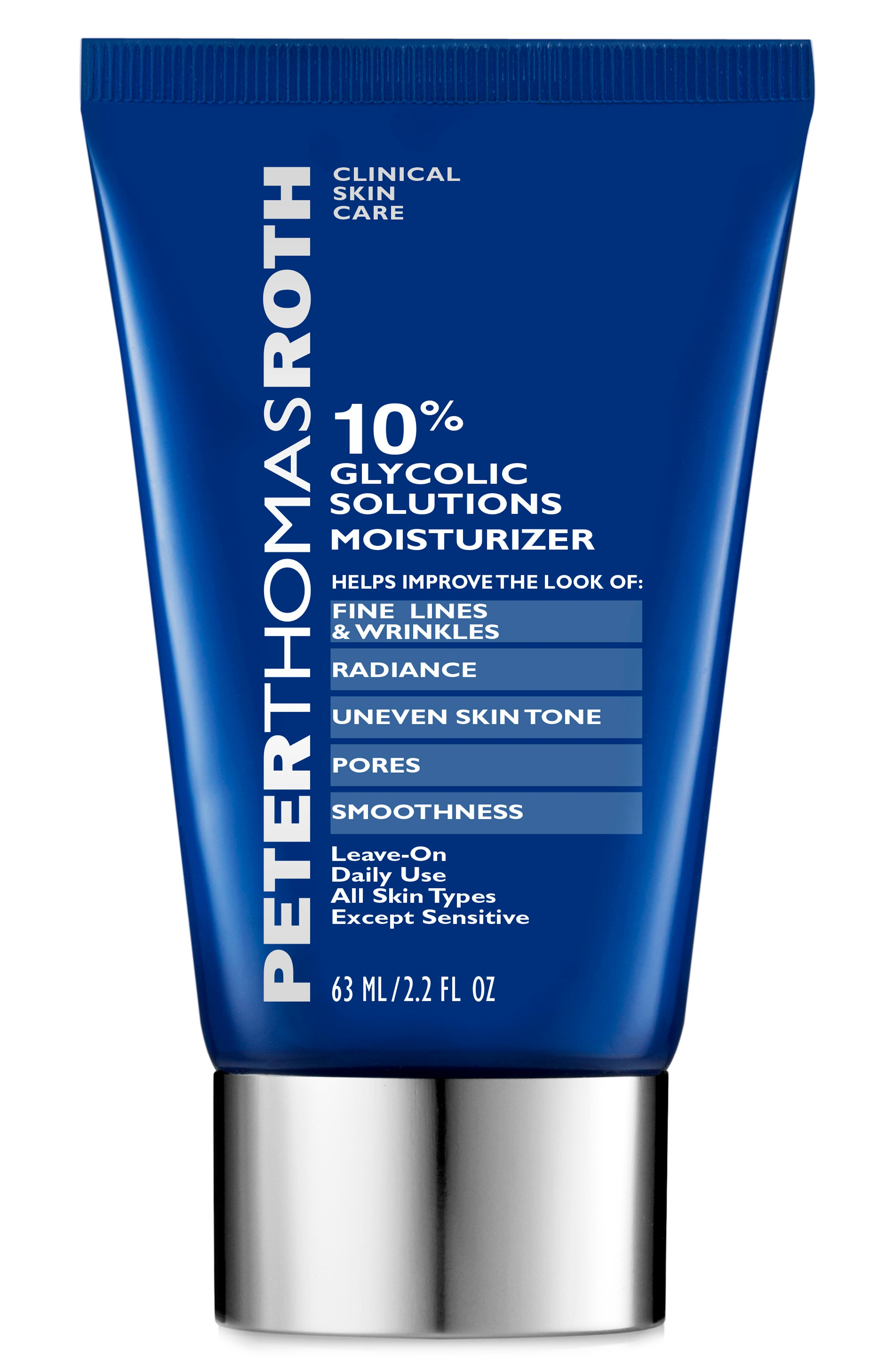 PETER THOMAS ROTH, 10% Glycolic Solutions Moisturizer, Main thumbnail 1, color, NO COLOR