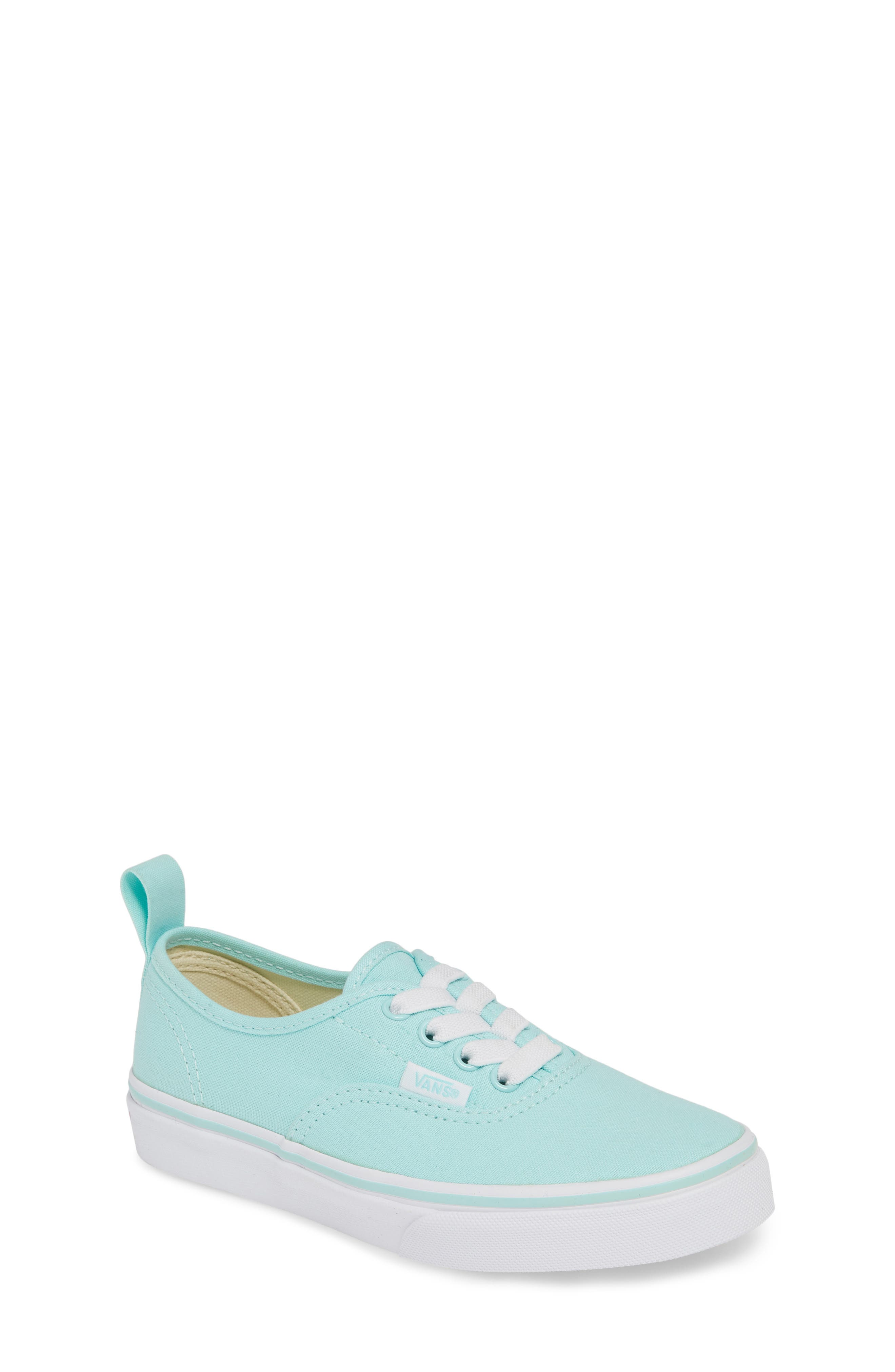 VANS, Authentic Sneaker, Main thumbnail 1, color, BLUE TINT/ TRUE WHITE