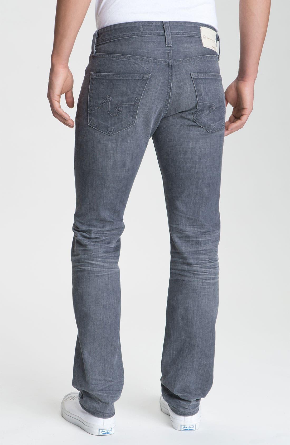 AG, 'Matchbox' Slim Fit Jeans, Alternate thumbnail 2, color, 020