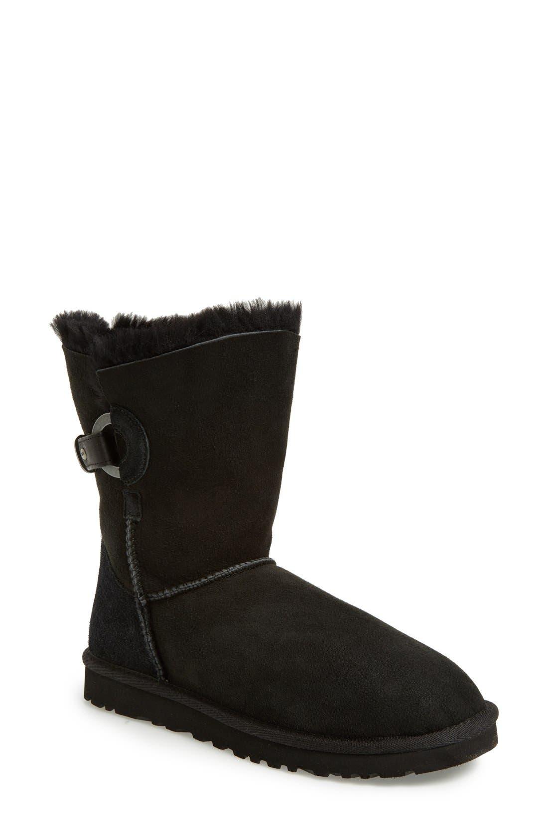 UGG<SUP>®</SUP>, Nash Genuine Shearling Boot, Main thumbnail 1, color, 001
