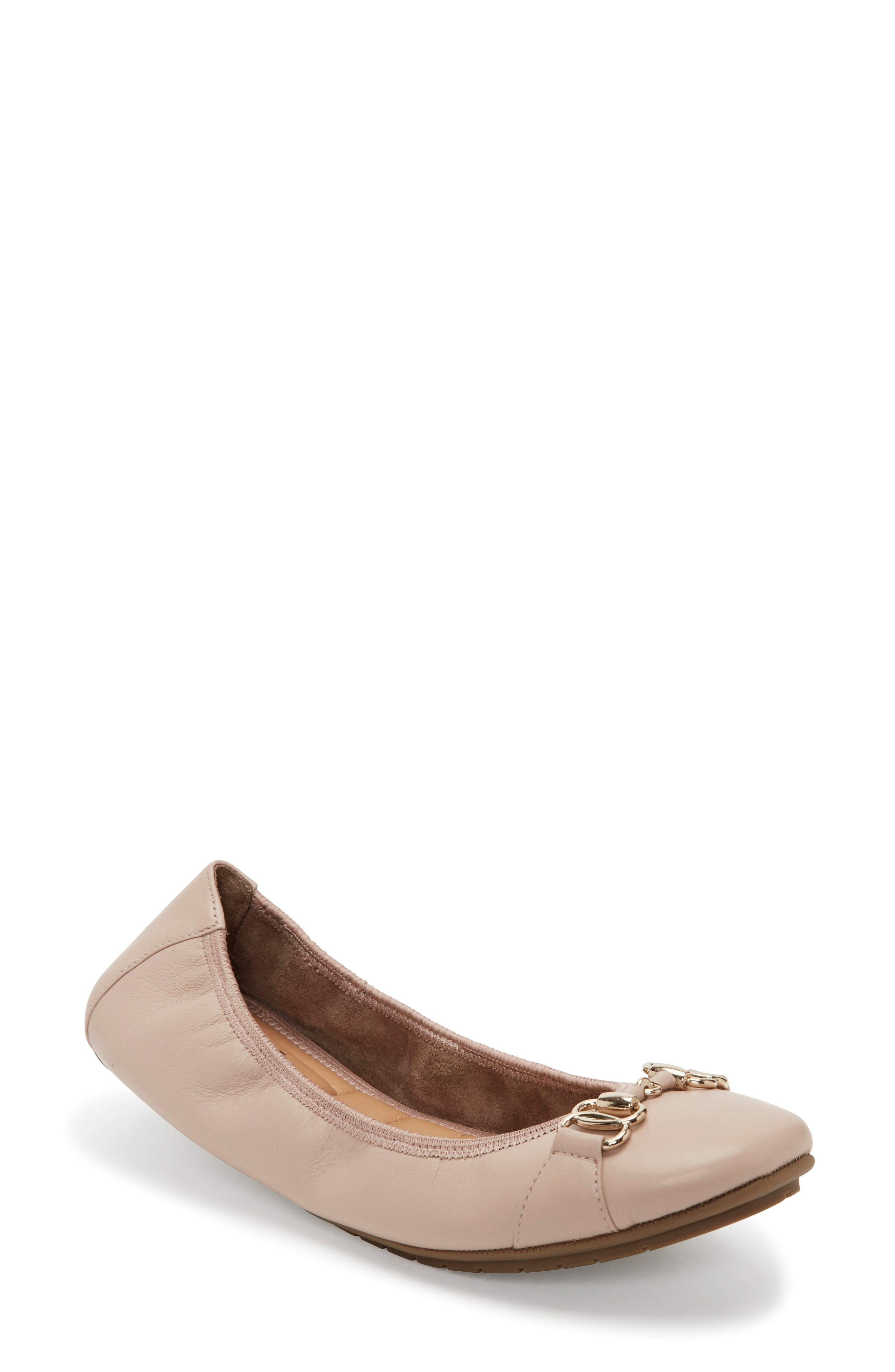 ME TOO Olympia Skimmer Flat, Main, color, DRIFTWOOD LEATHER