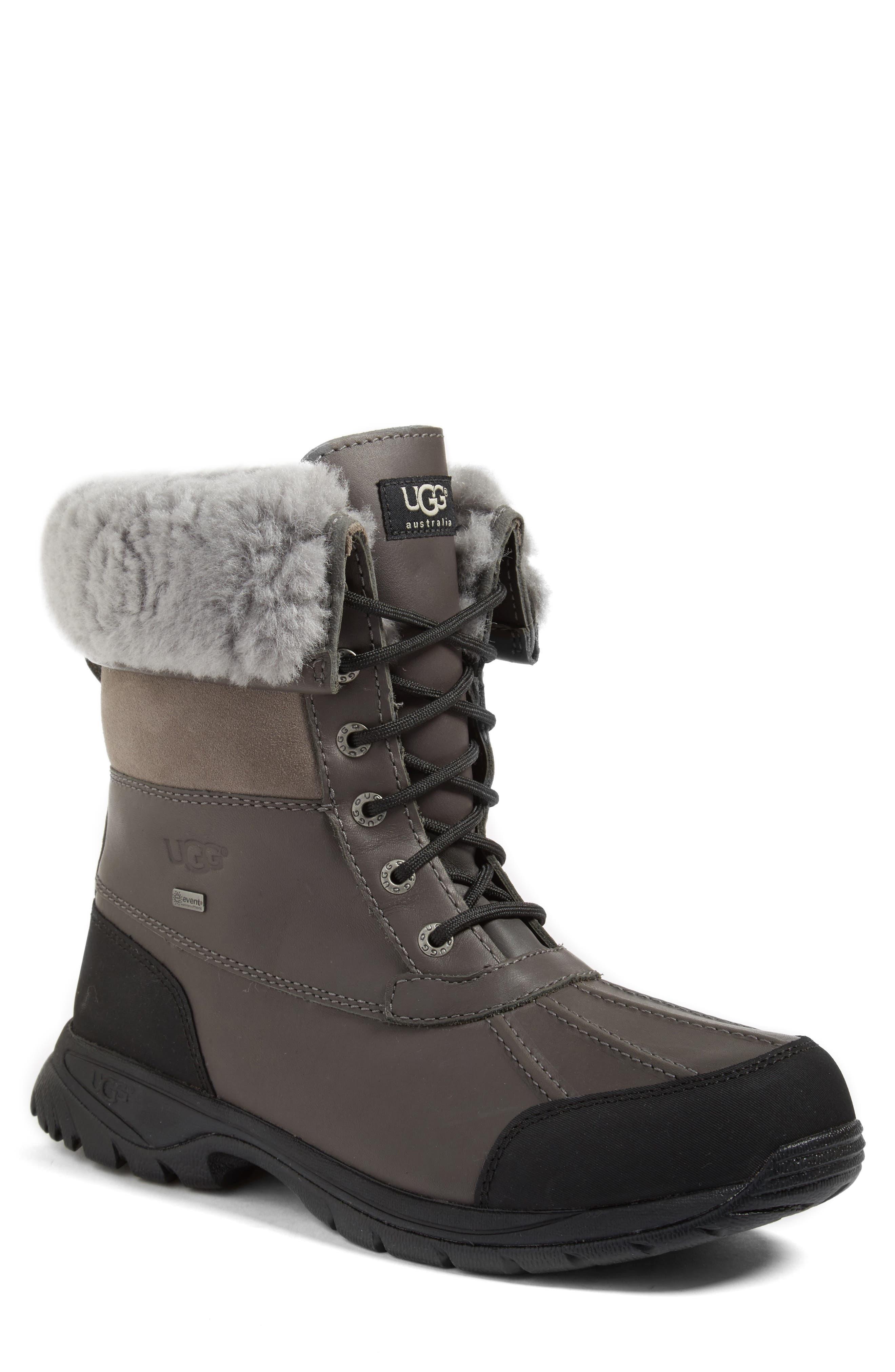 Ugg Butte Waterproof Boot, Grey