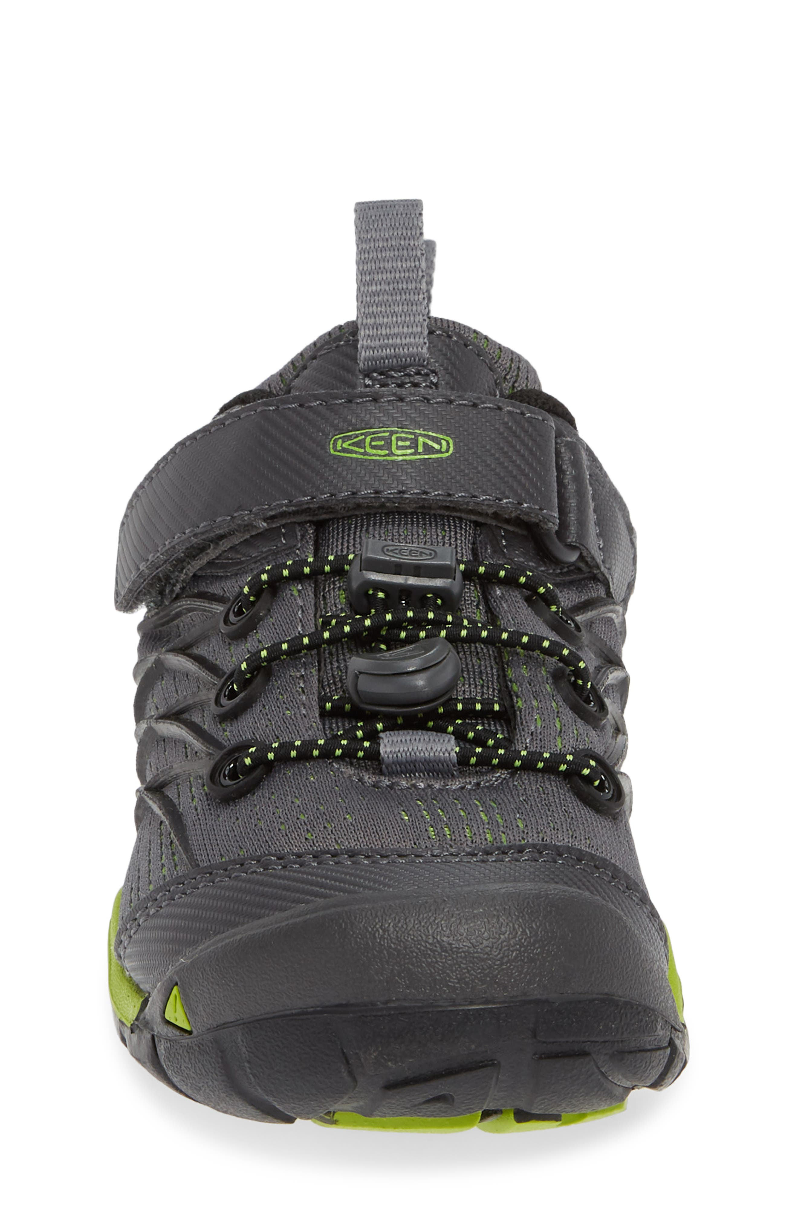 KEEN, 'Chandler CNX' Water Repellent Sneaker, Alternate thumbnail 4, color, MAGNET/ GREENERY