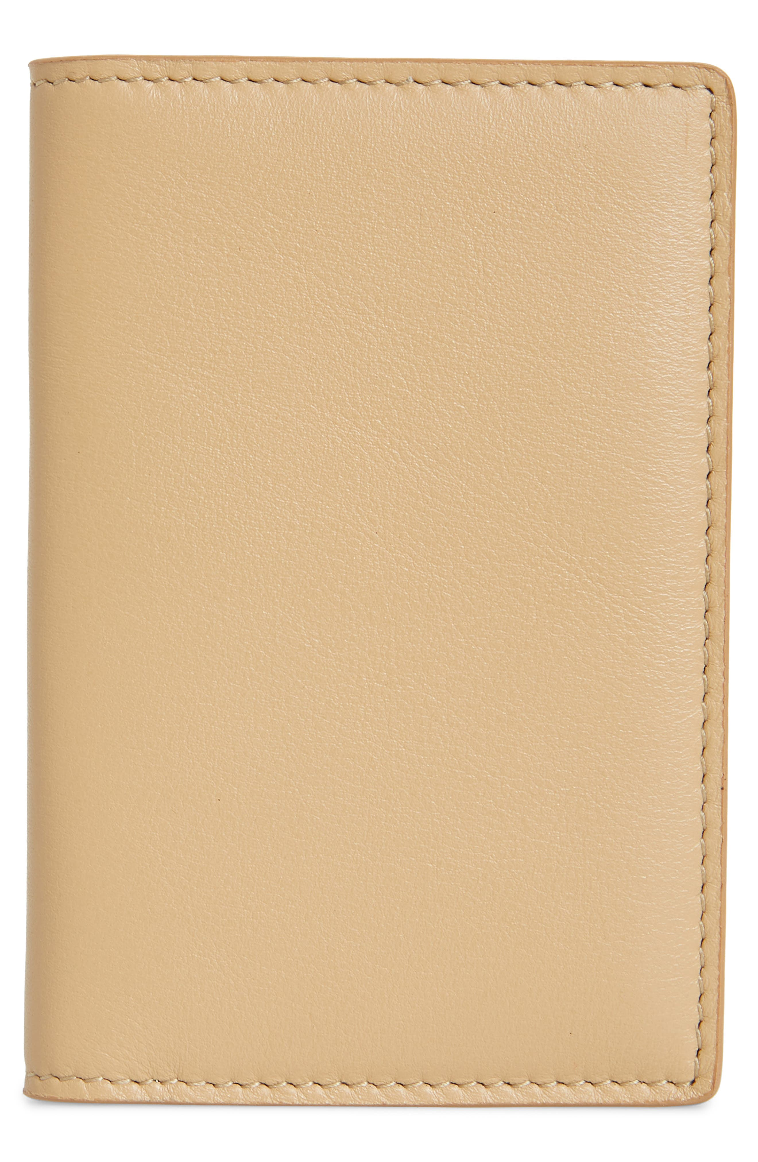 COMMON PROJECTS, Nappa Leather Folio Wallet, Alternate thumbnail 3, color, 250