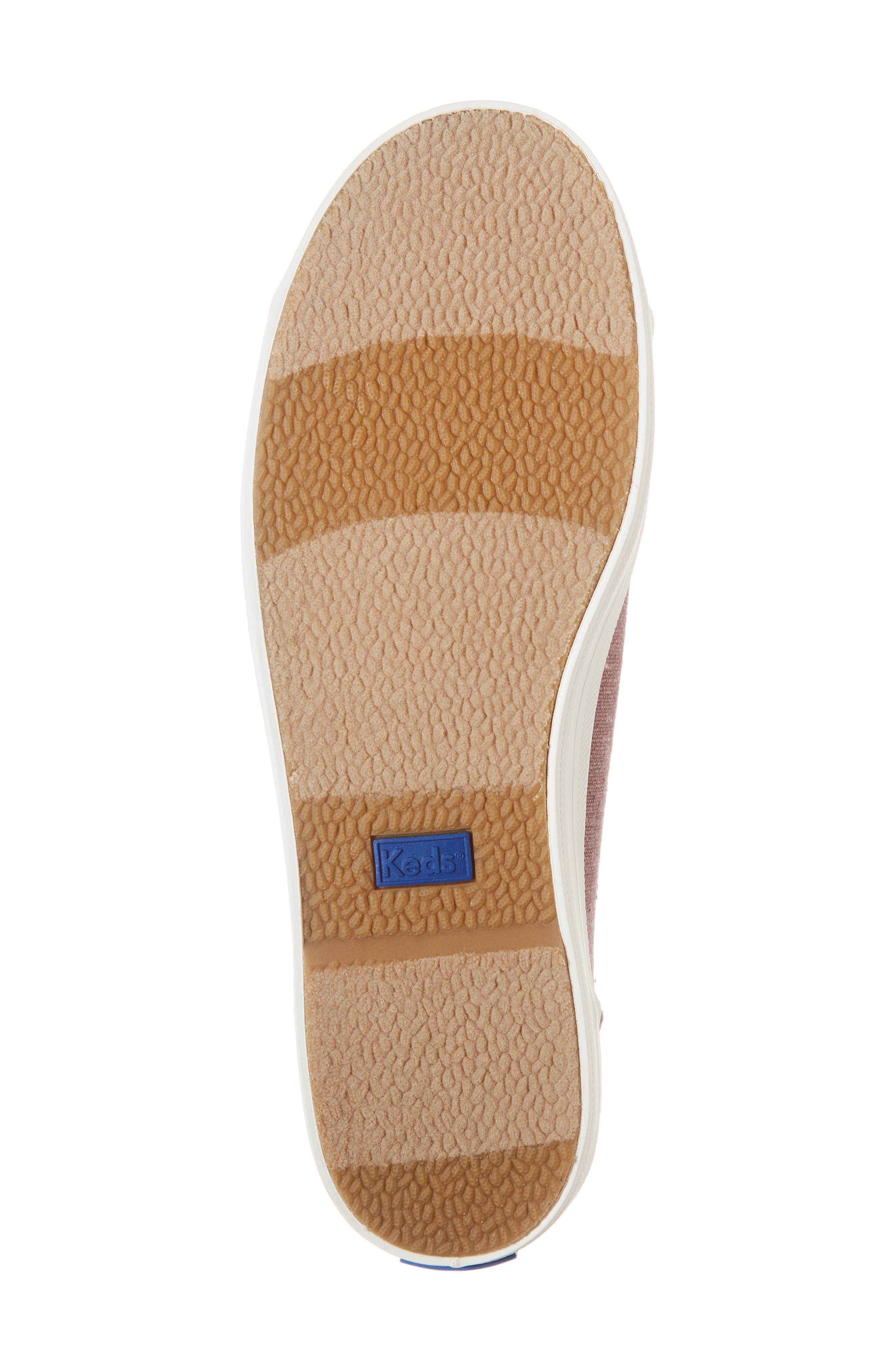 KEDS<SUP>®</SUP>, Kickstart Sneaker, Alternate thumbnail 6, color, MAUVE