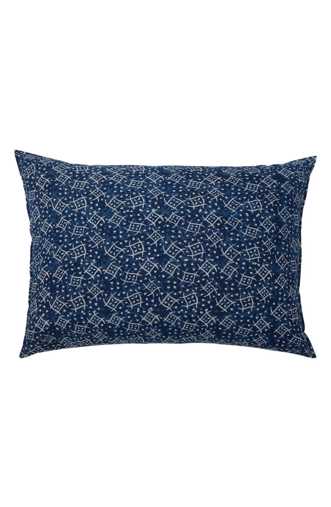 POM POM AT HOME, Neela Big Accent Pillow, Main thumbnail 1, color, BLUE