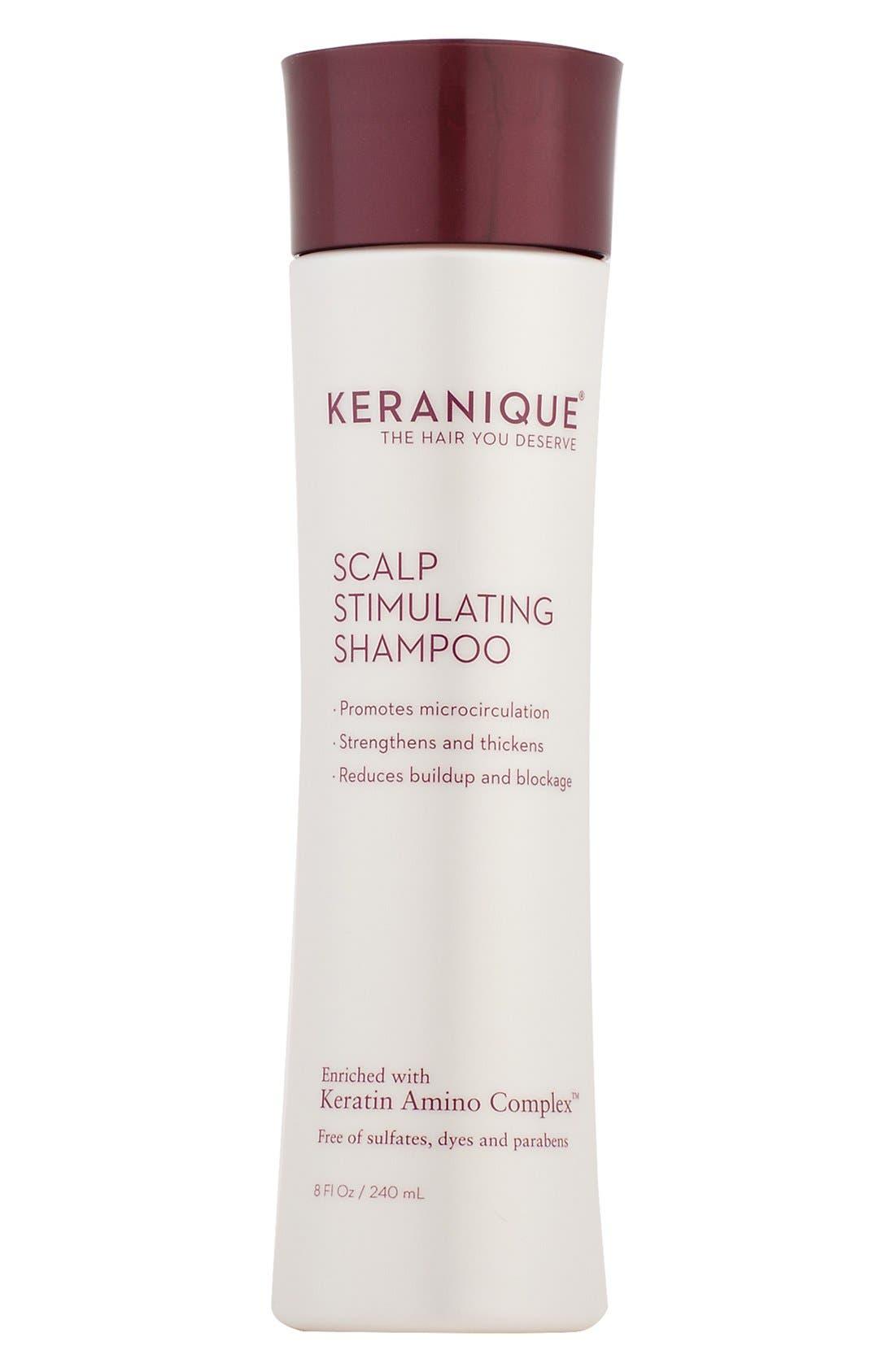 KERANIQUE, Scalp Stimulating Shampoo, Main thumbnail 1, color, NO COLOR