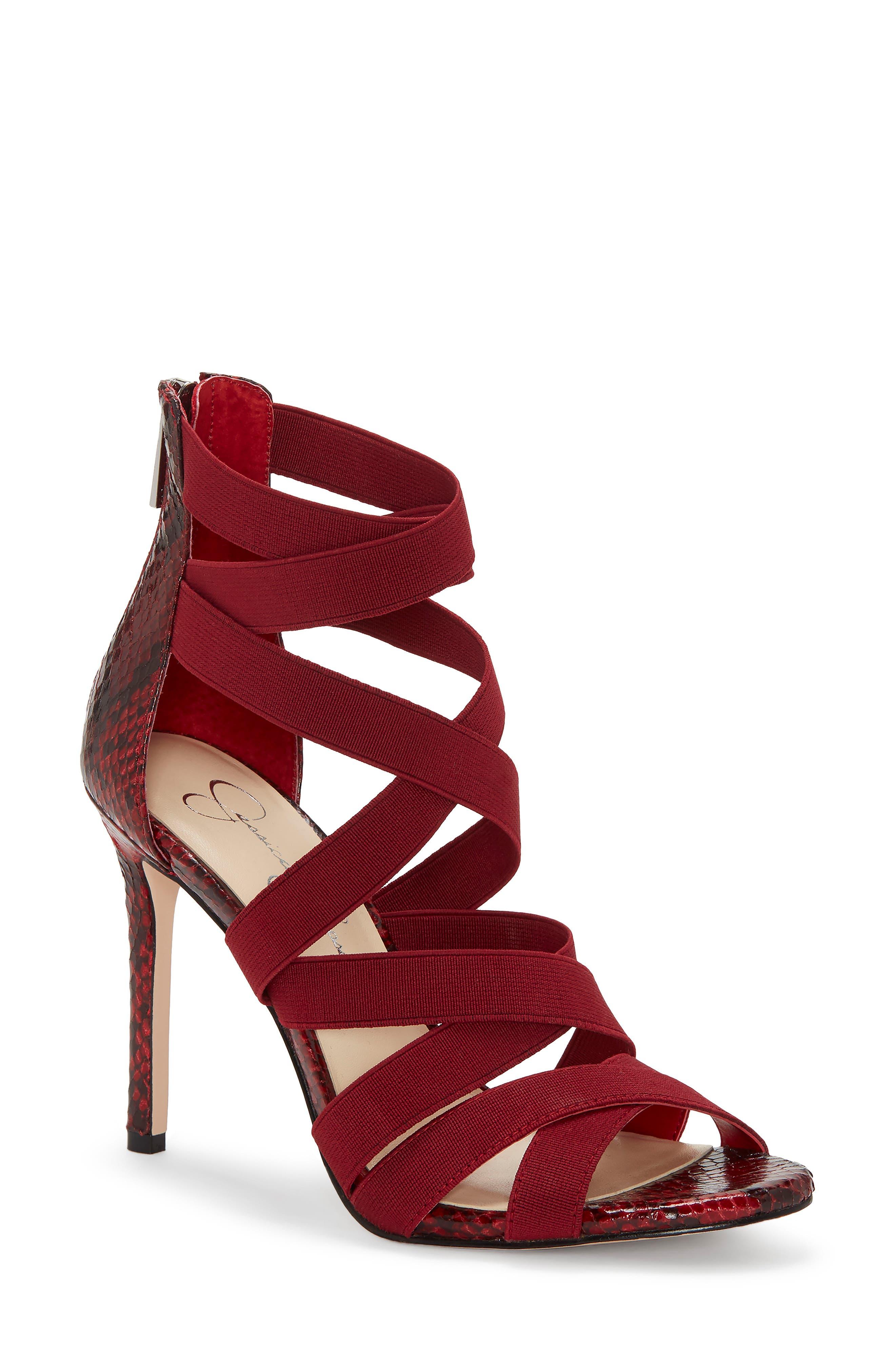Jessica Simpson Jyra Sandal- Red