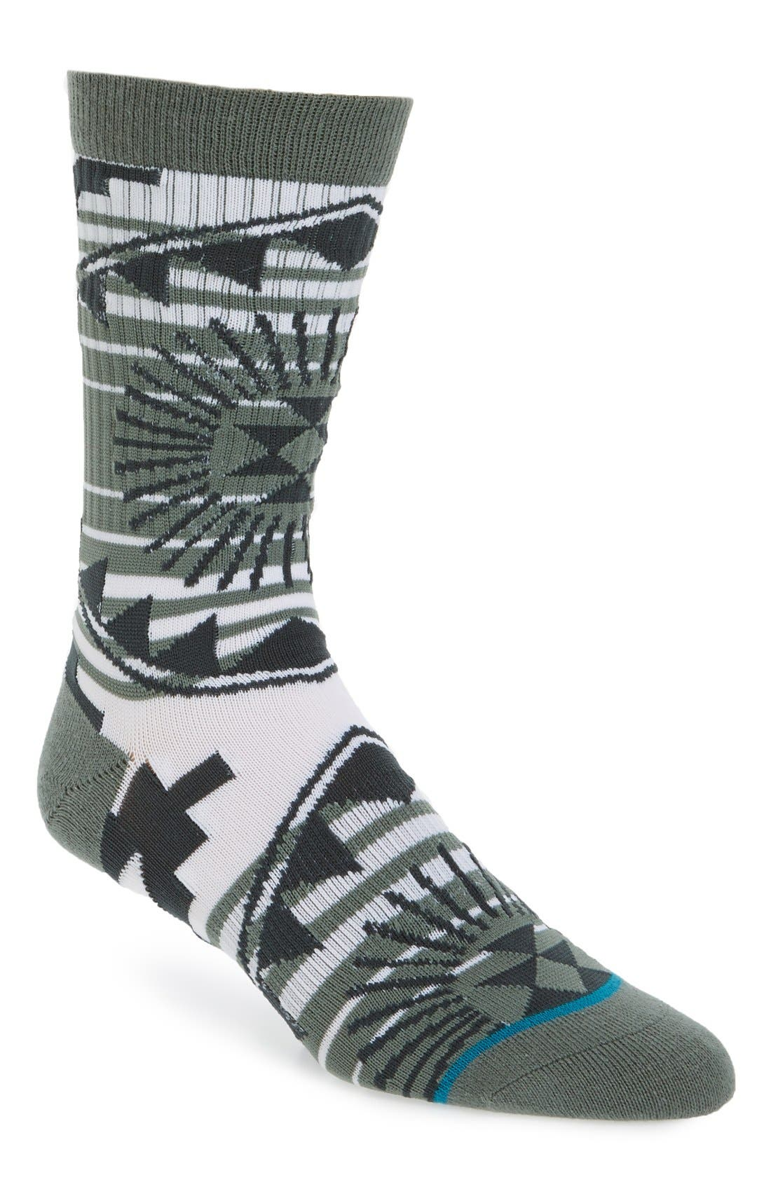 STANCE, Sundrop 2 Crew Socks, Main thumbnail 1, color, 310