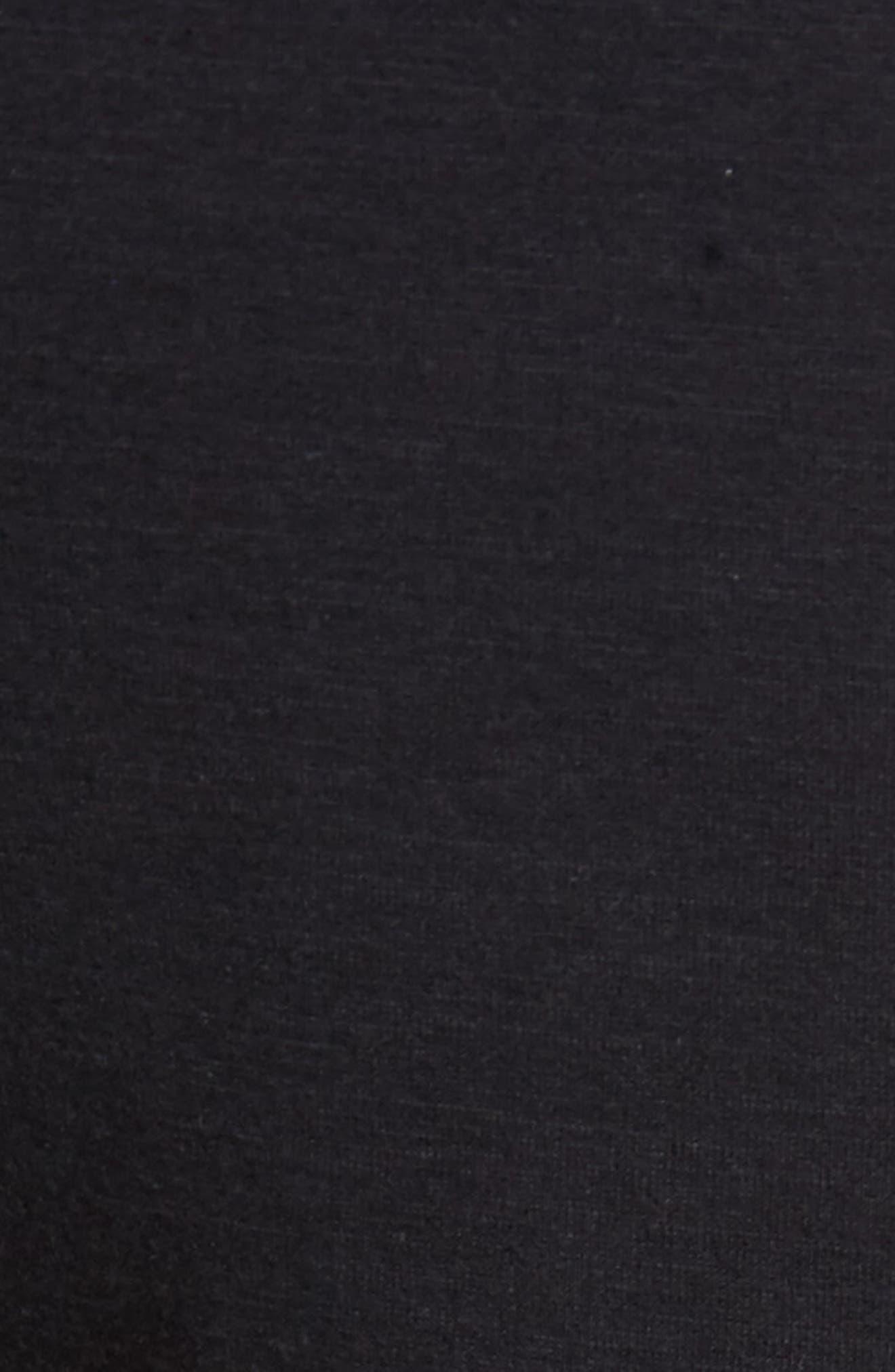 ZELLA, Magnetite Fleece Jogger Pants, Alternate thumbnail 6, color, 001