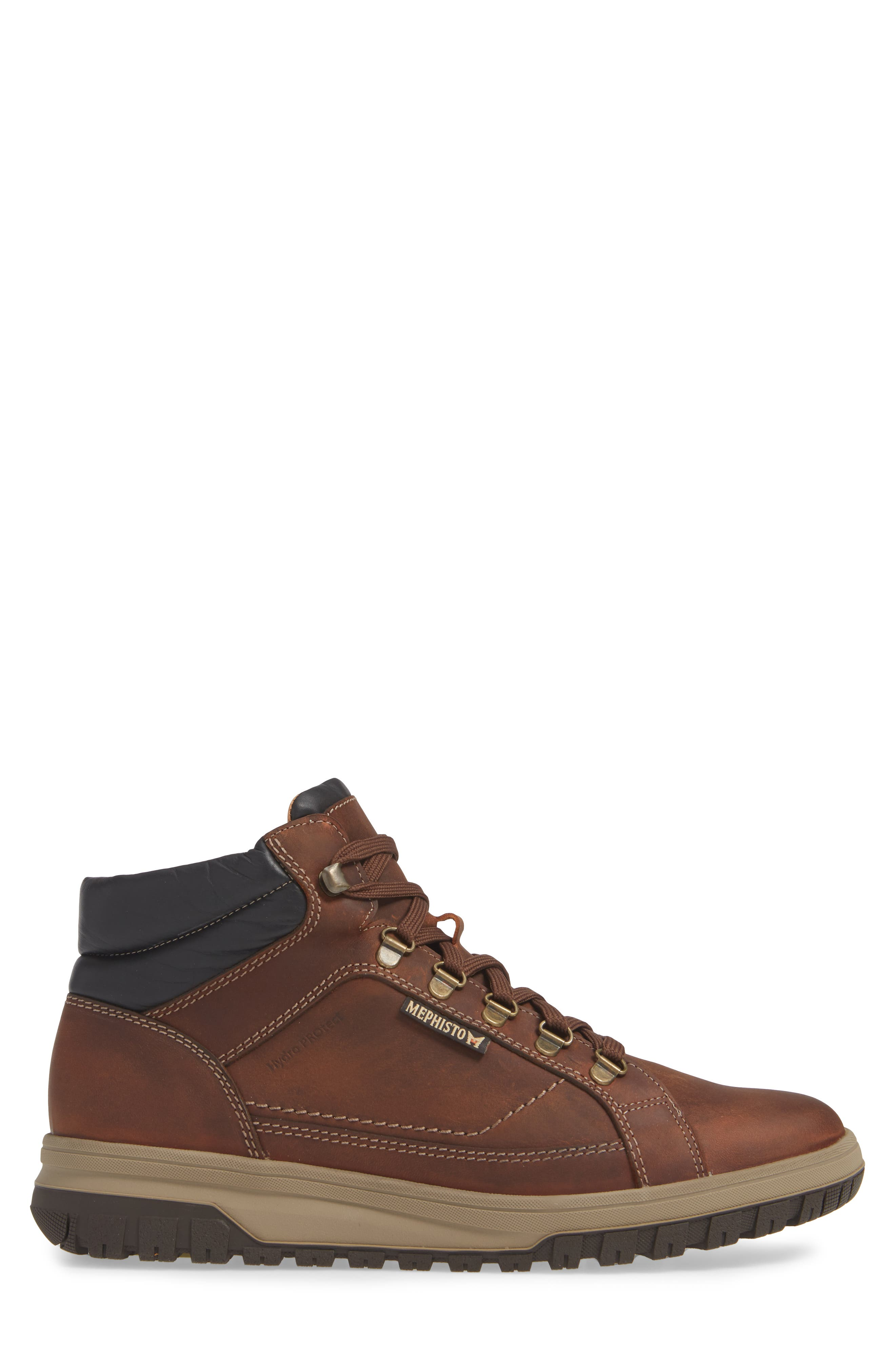 MEPHISTO, Pitt Mid Lace-Up Boot, Alternate thumbnail 3, color, 213