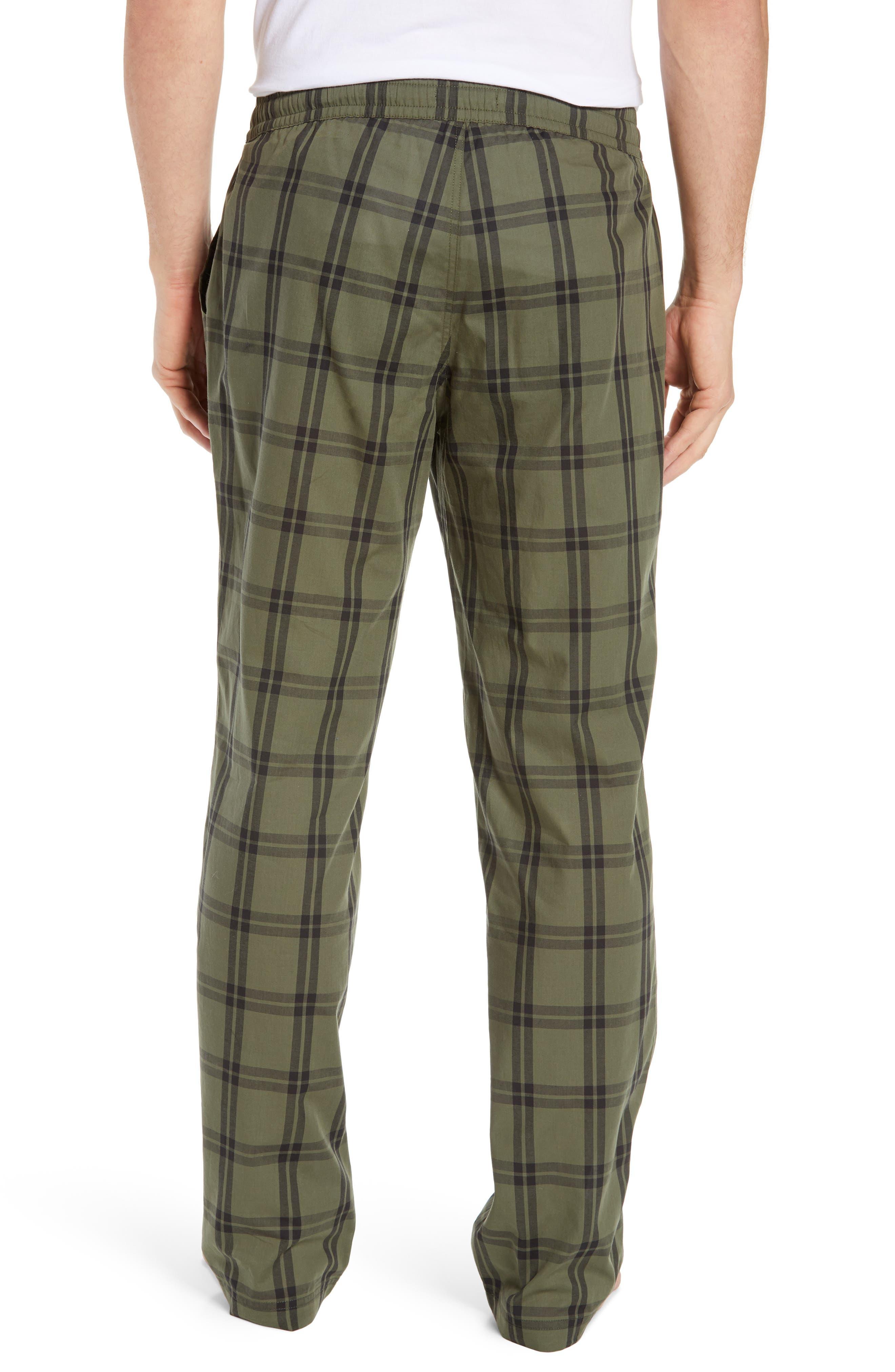 UGG<SUP>®</SUP>, Flynn Pajama Pants, Alternate thumbnail 2, color, CACTUS