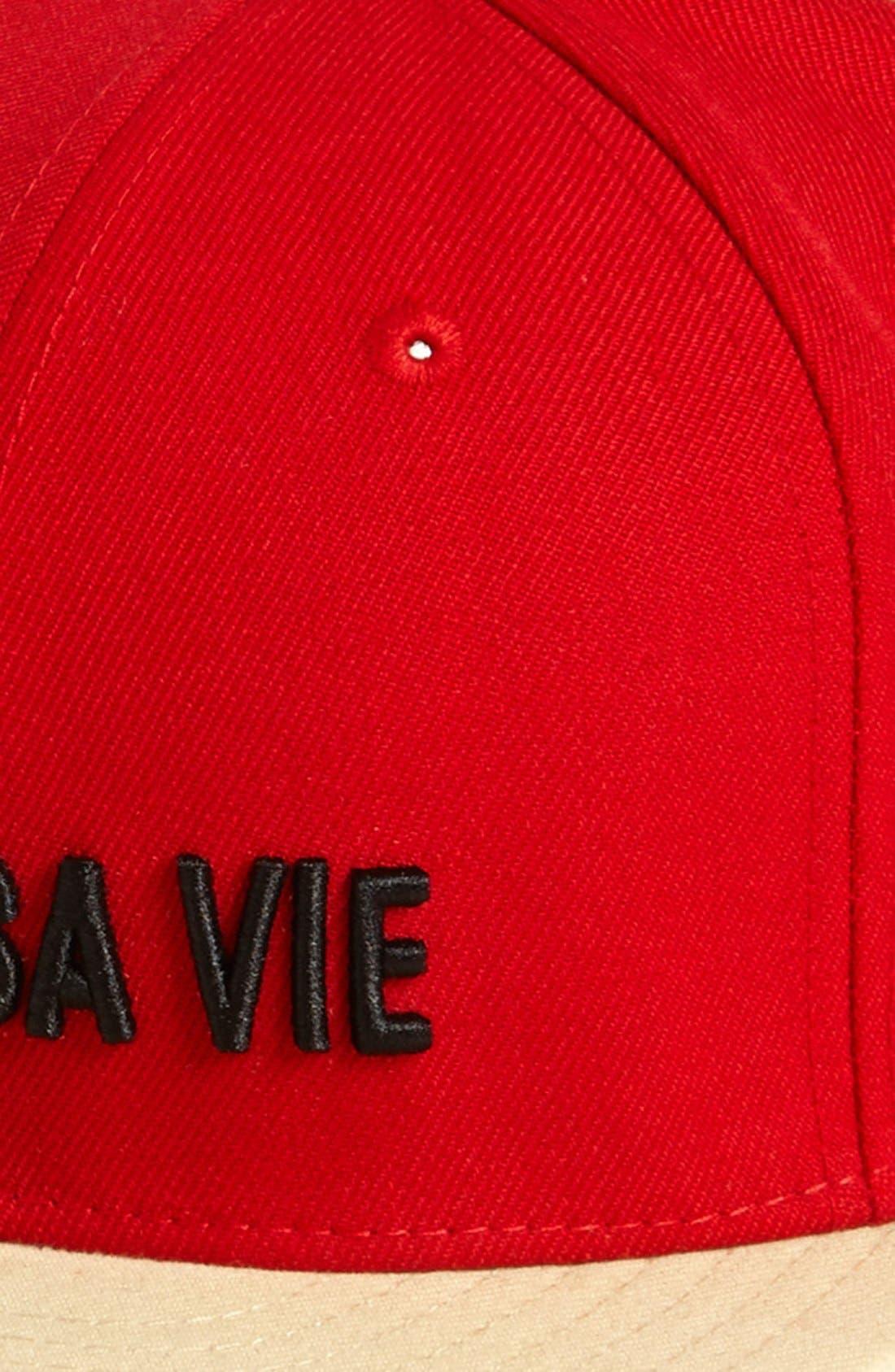 NEW ERA CAP, 'Vivre Sa Vie' Baseball Cap, Main thumbnail 1, color, 600
