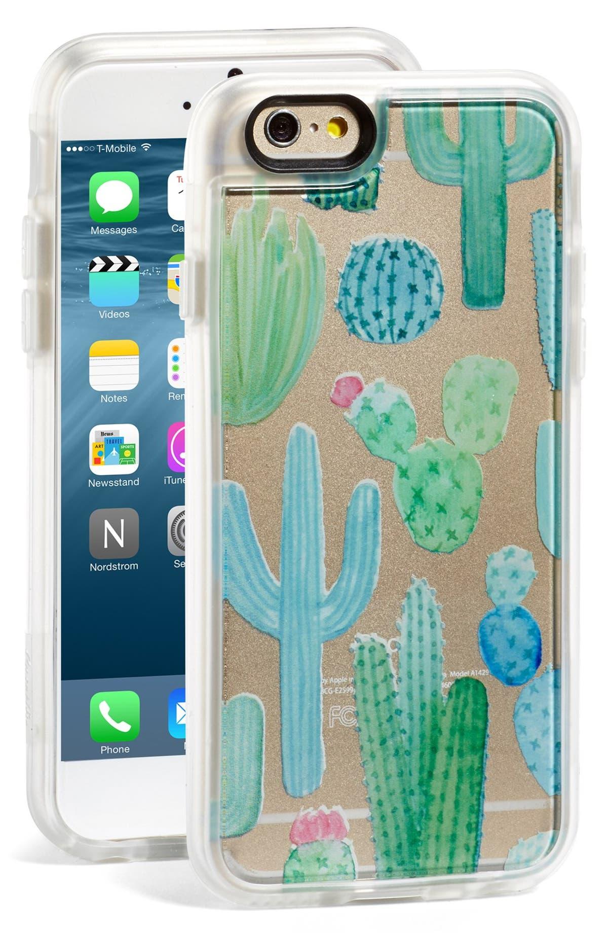save off f9d19 c30d0 Casetify 'Desert Cactus Garden' iPhone 6 & 6s Case | Nordstrom