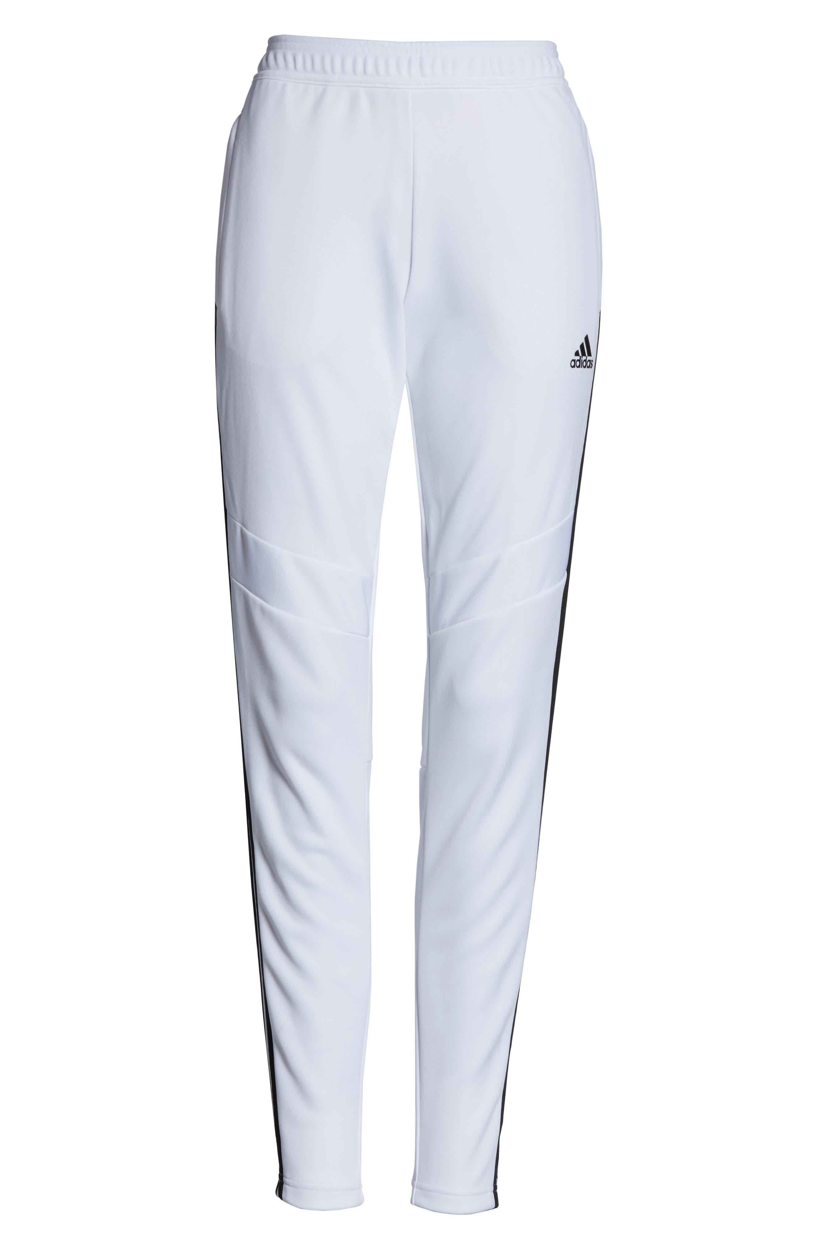 ADIDAS, Tiro 19 Training Pants, Alternate thumbnail 7, color, WHITE/ BLACK