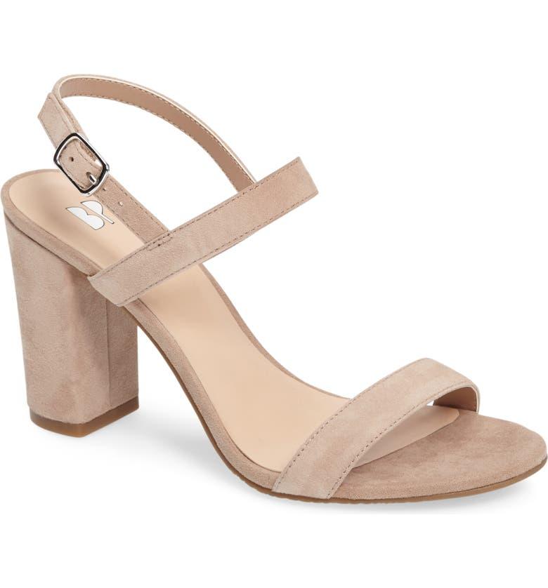 85bbbe39b16 BP. Lula Block Heel Slingback Sandal (Women)