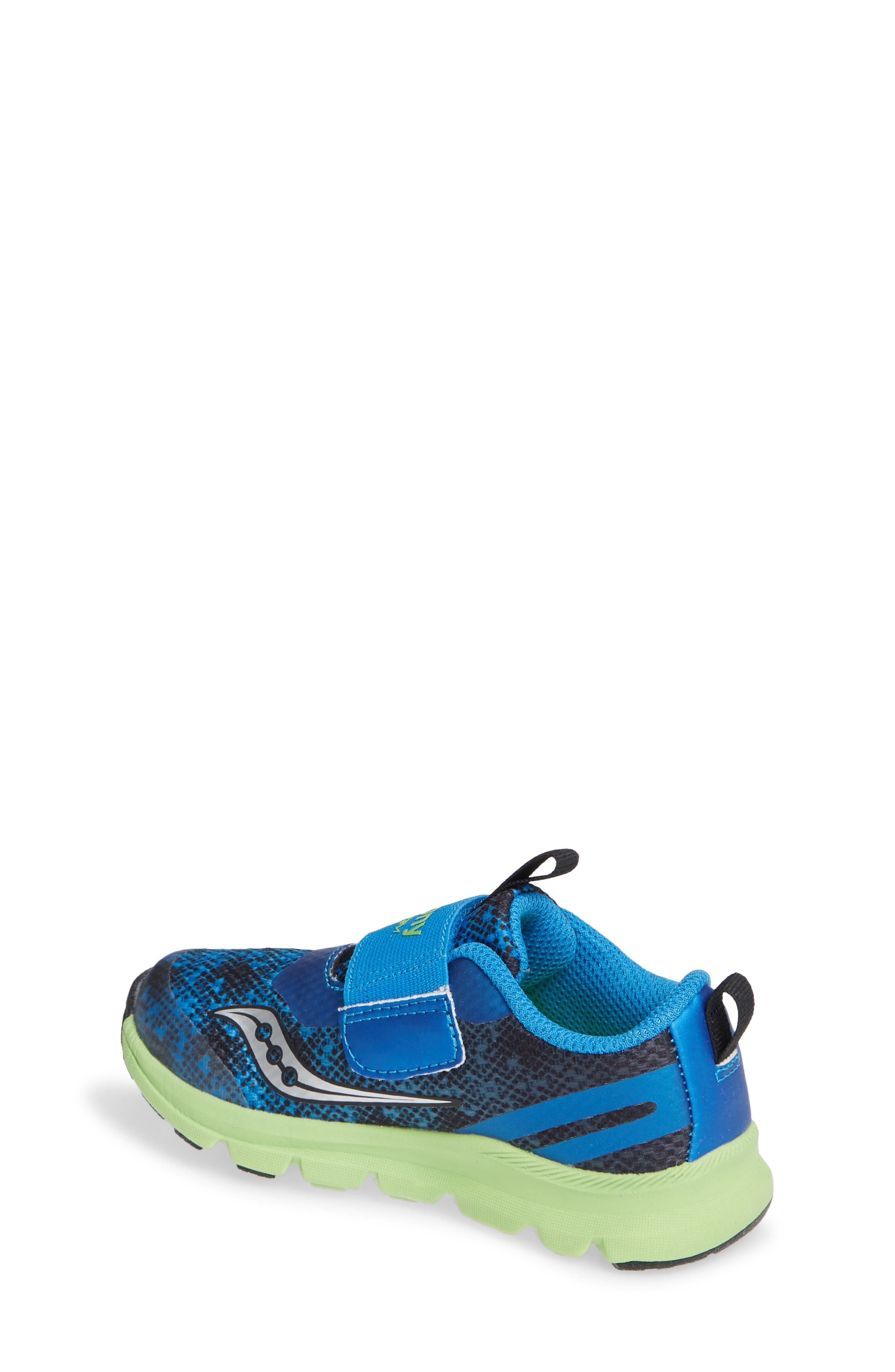 SAUCONY, Baby Liteform Sneaker, Alternate thumbnail 2, color, BLUE/ GREEN