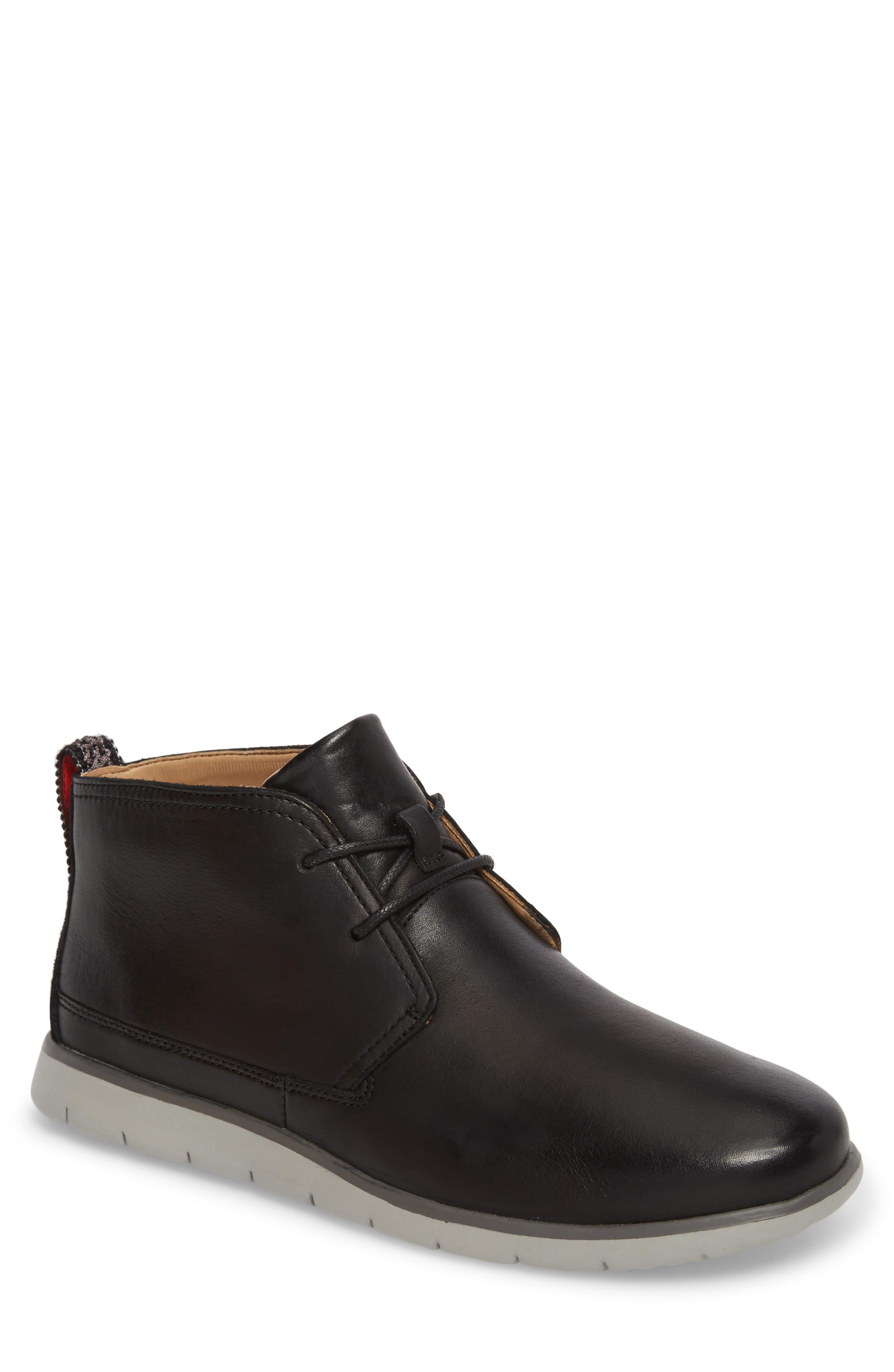UGG<SUP>®</SUP> Freamon Chukka Boot, Main, color, BLACK