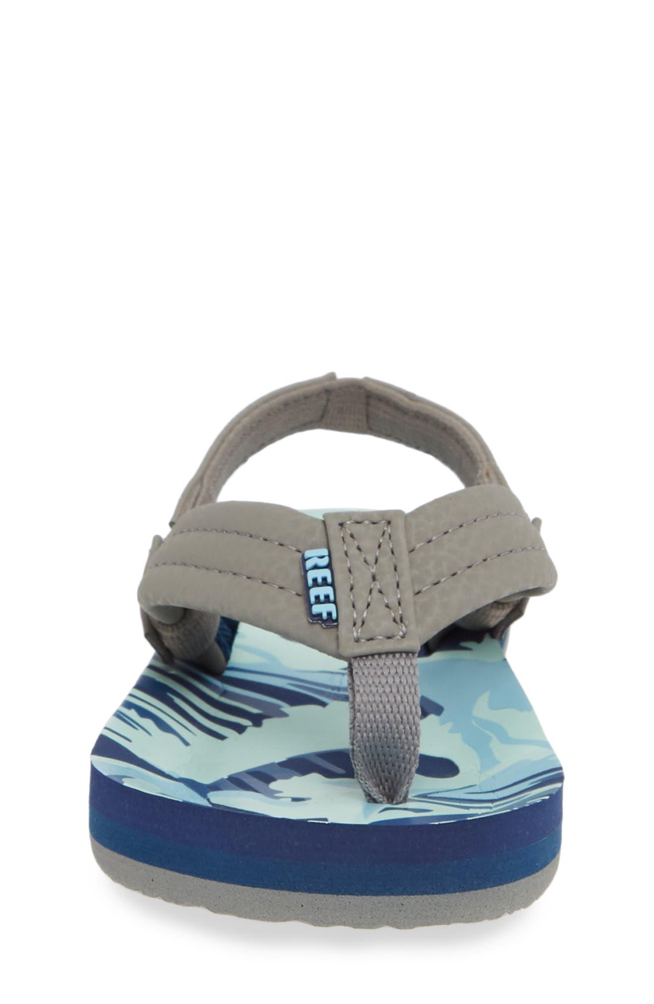 REEF, 'Ahi' Sandal, Alternate thumbnail 4, color, BLUE