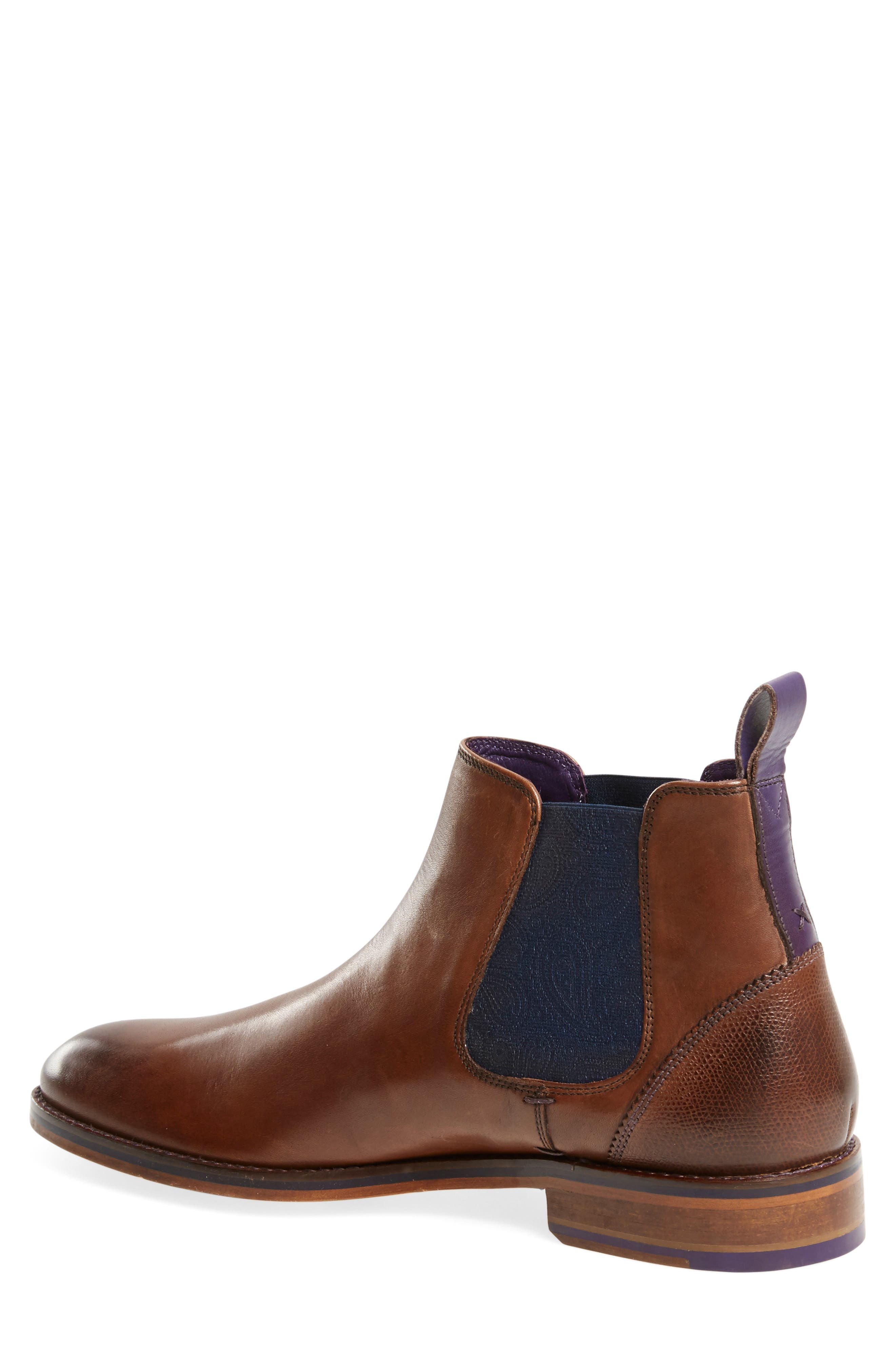 TED BAKER LONDON, 'Camroon 4' Chelsea Boot, Alternate thumbnail 3, color, 219