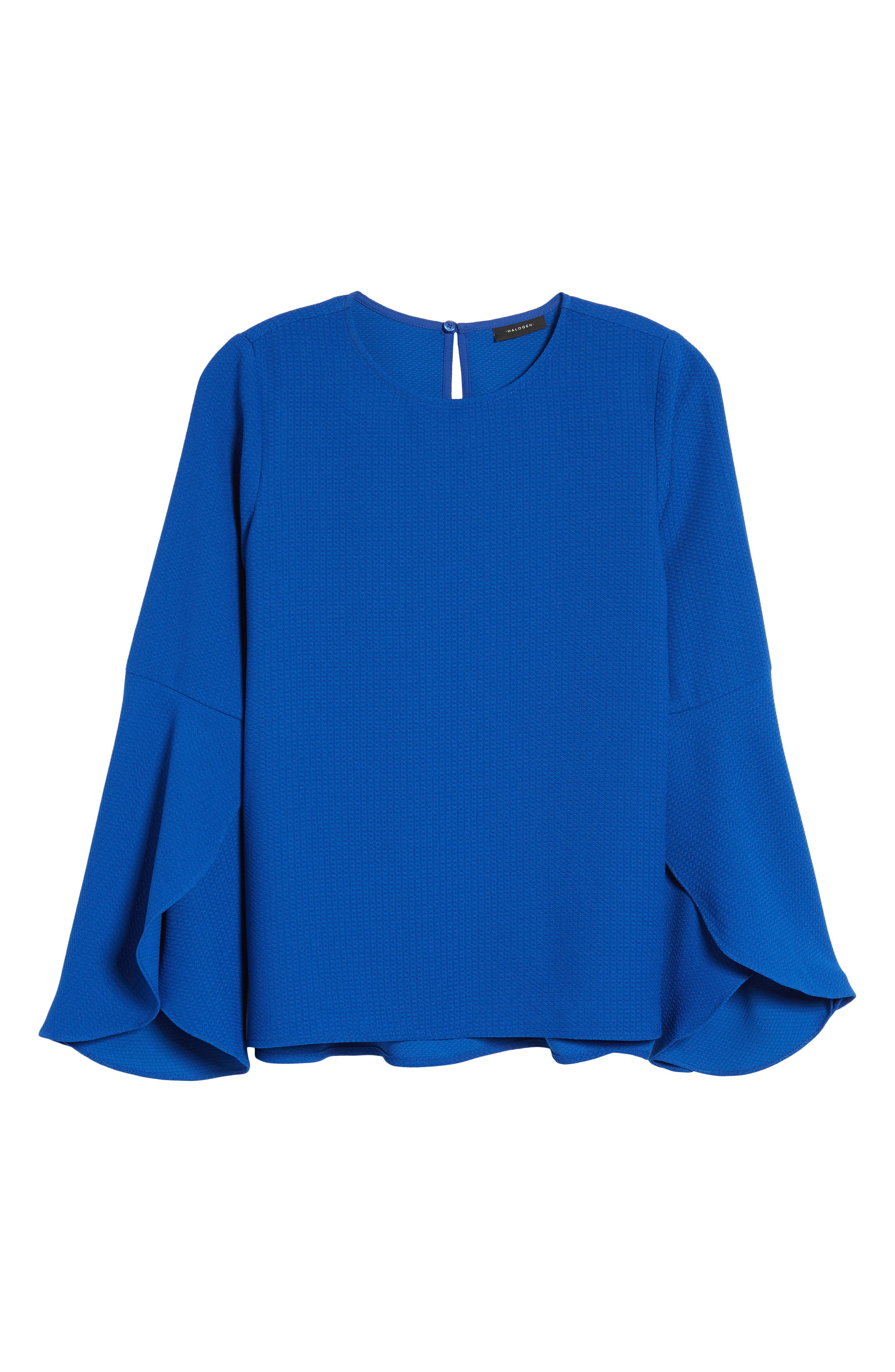 HALOGEN<SUP>®</SUP>, Bell Sleeve Top, Alternate thumbnail 6, color, 420