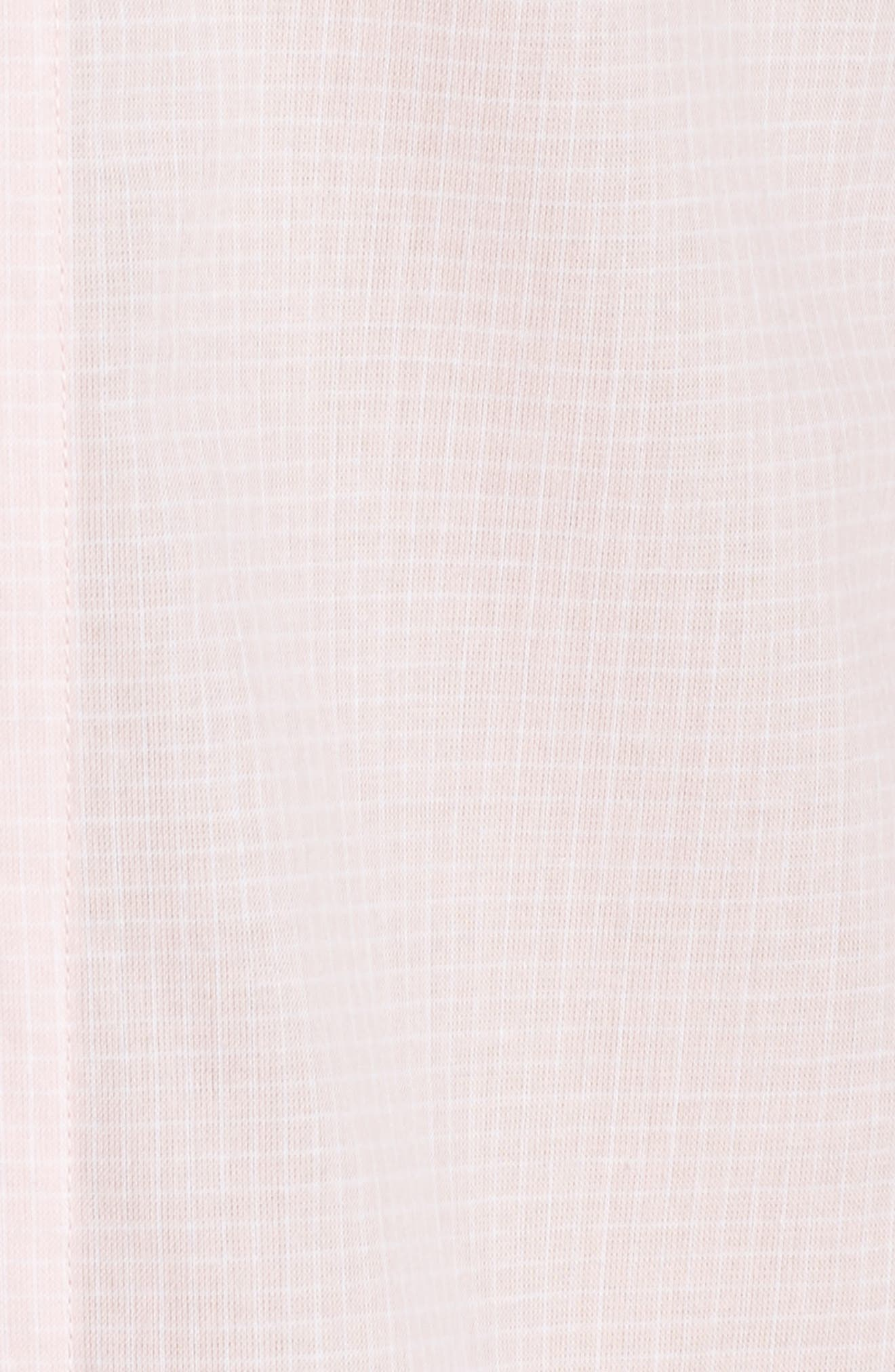 UGG<SUP>®</SUP>, Cassandra Check Pajamas, Alternate thumbnail 5, color, 656