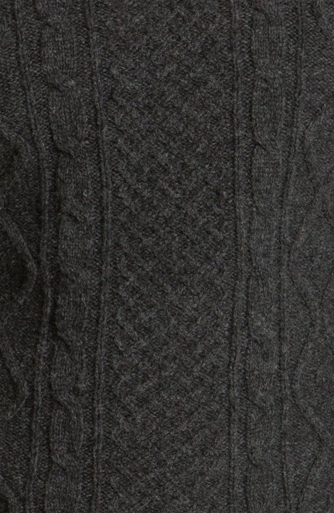 A.P.C., 'Fisherman's' Lambswool Sweater, Alternate thumbnail 2, color, 021