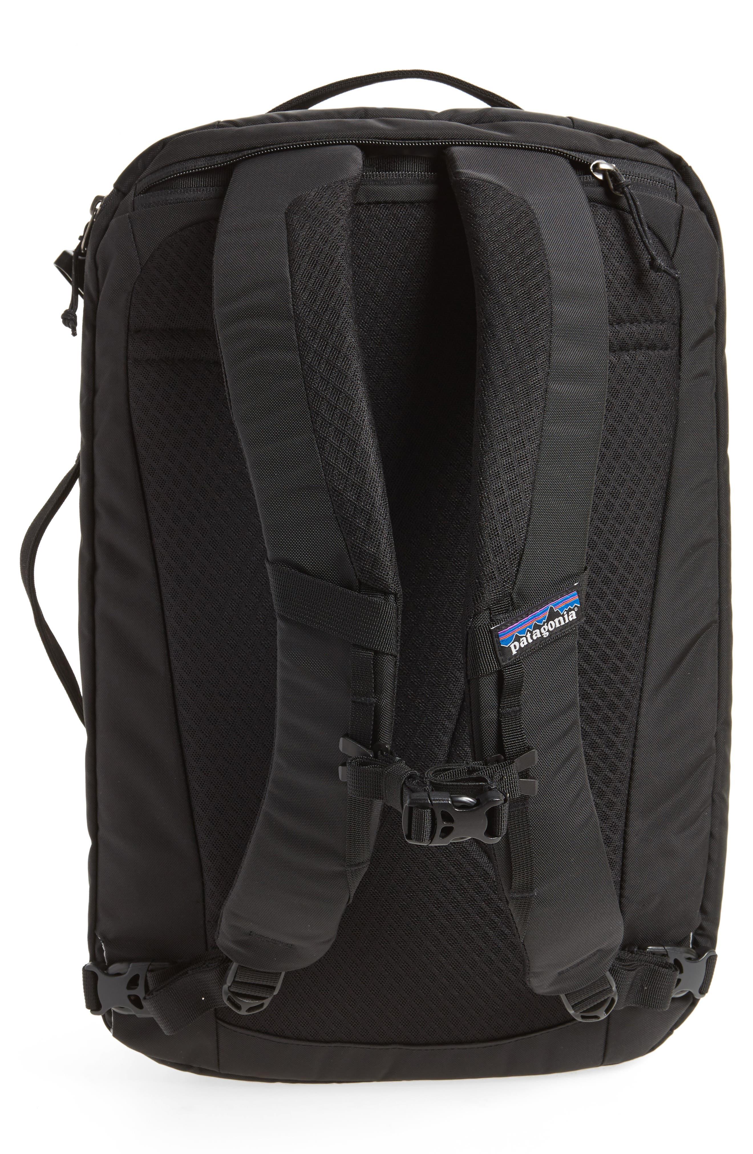 PATAGONIA, Tres 25-Liter Convertible Backpack, Alternate thumbnail 4, color, BLACK