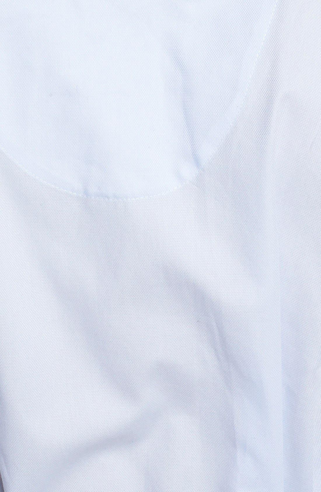MAJESTIC INTERNATIONAL, 'Signature' Cotton Robe, Alternate thumbnail 6, color, SURF