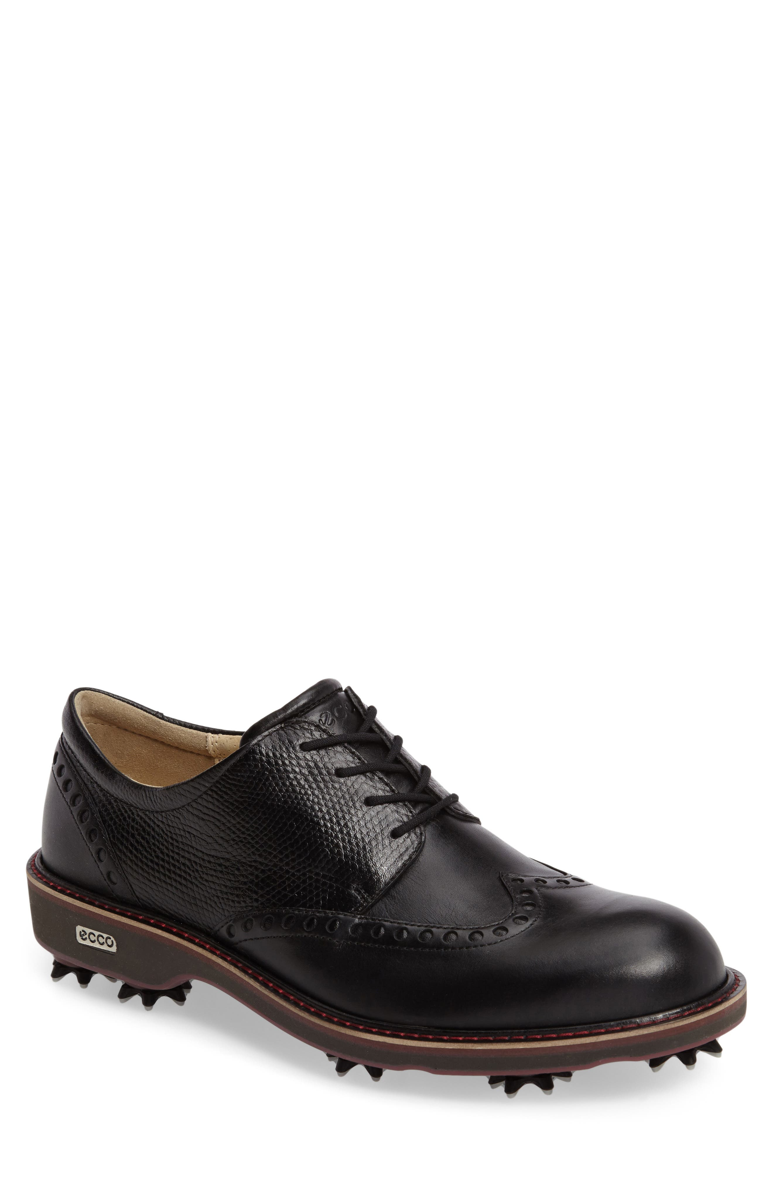 ECCO, Lux Golf Shoe, Main thumbnail 1, color, 001