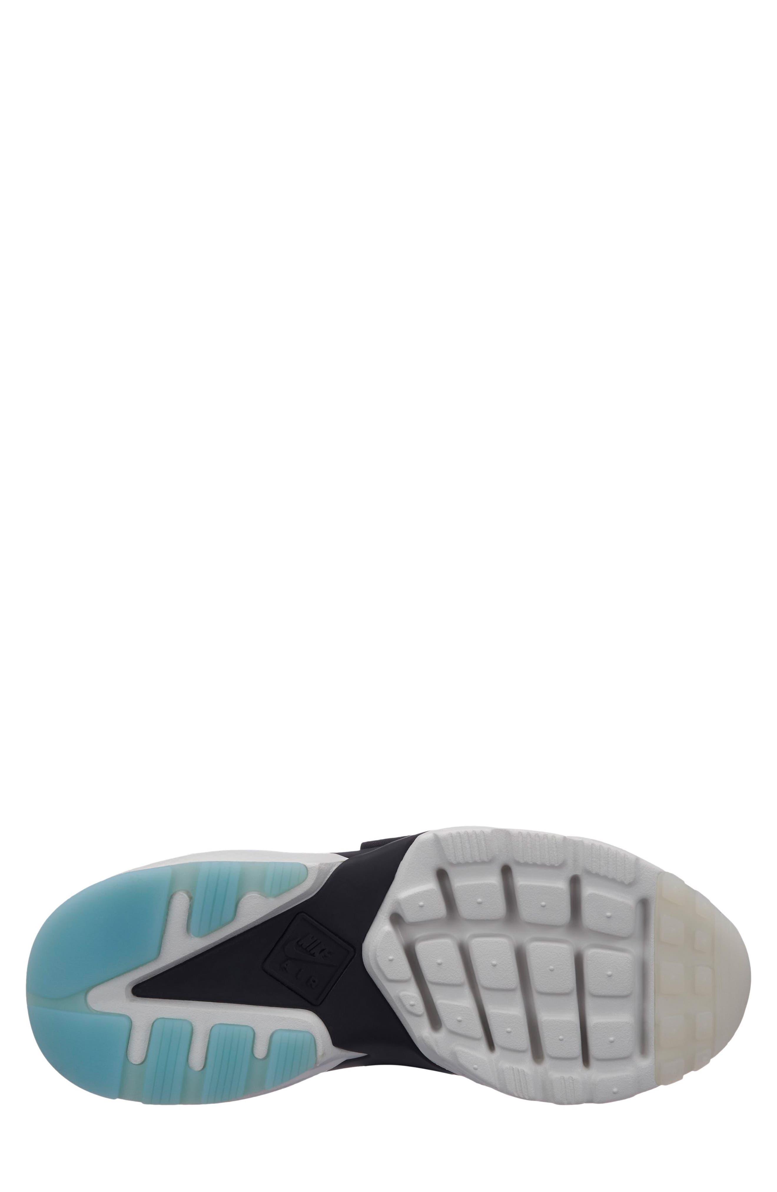 NIKE, Air Huarache City Sneaker, Alternate thumbnail 2, color, BLACK/ BLACK/ WHITE/ ICE