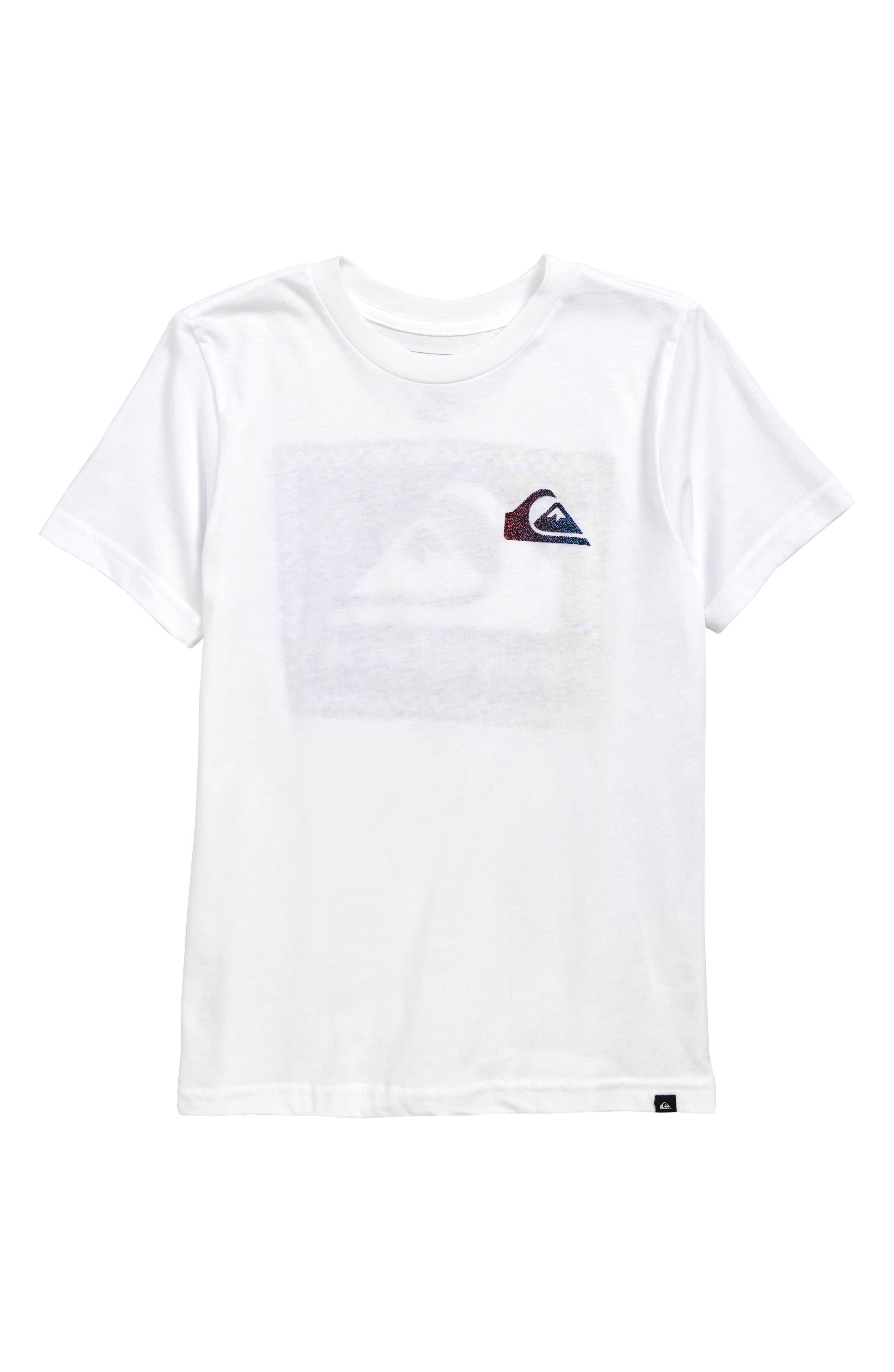 QUIKSILVER Time Warp T-Shirt, Main, color, WHITE