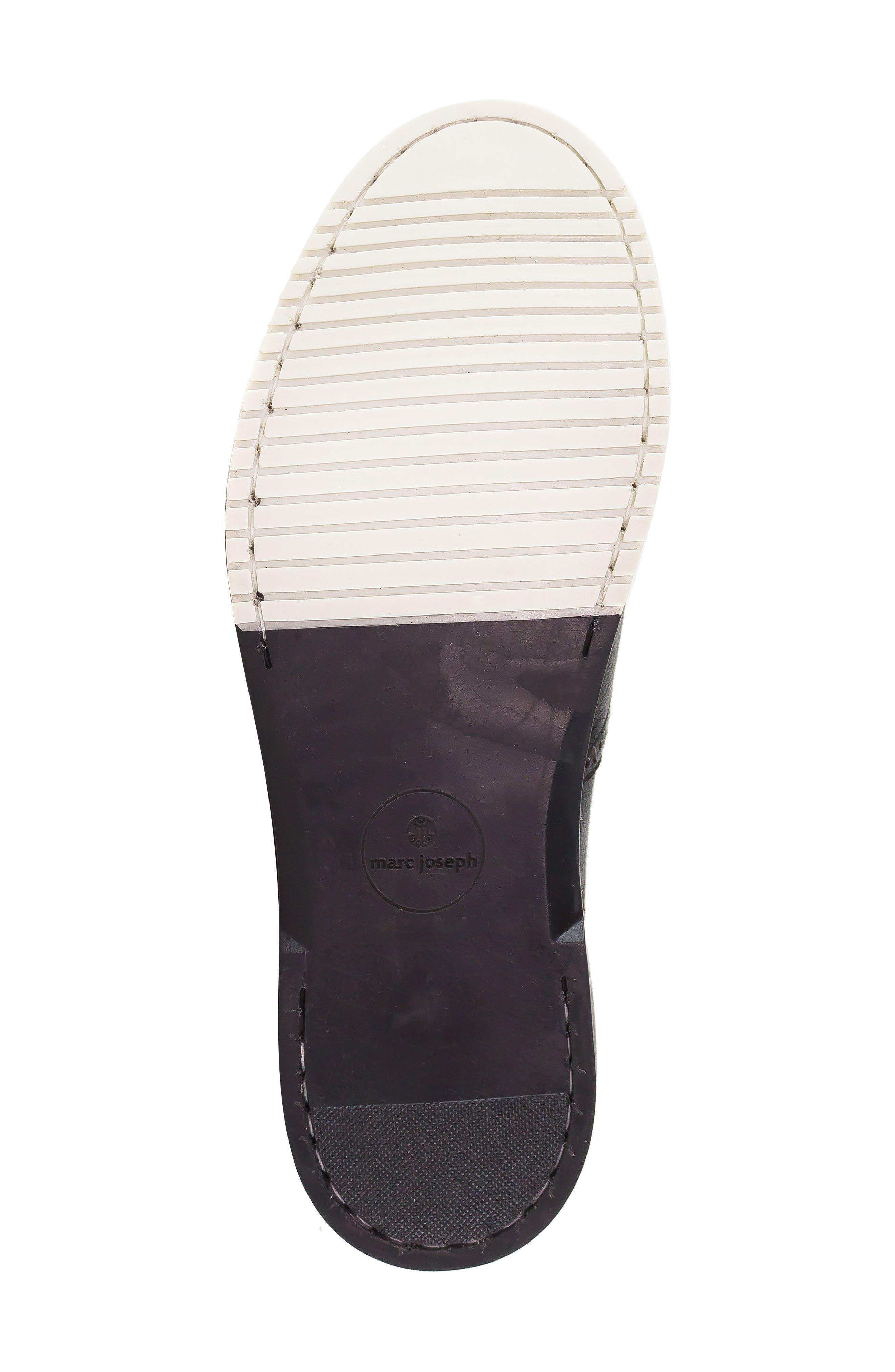 MARC JOSEPH NEW YORK, 5th Ave Wingtip Sneaker, Alternate thumbnail 6, color, 001