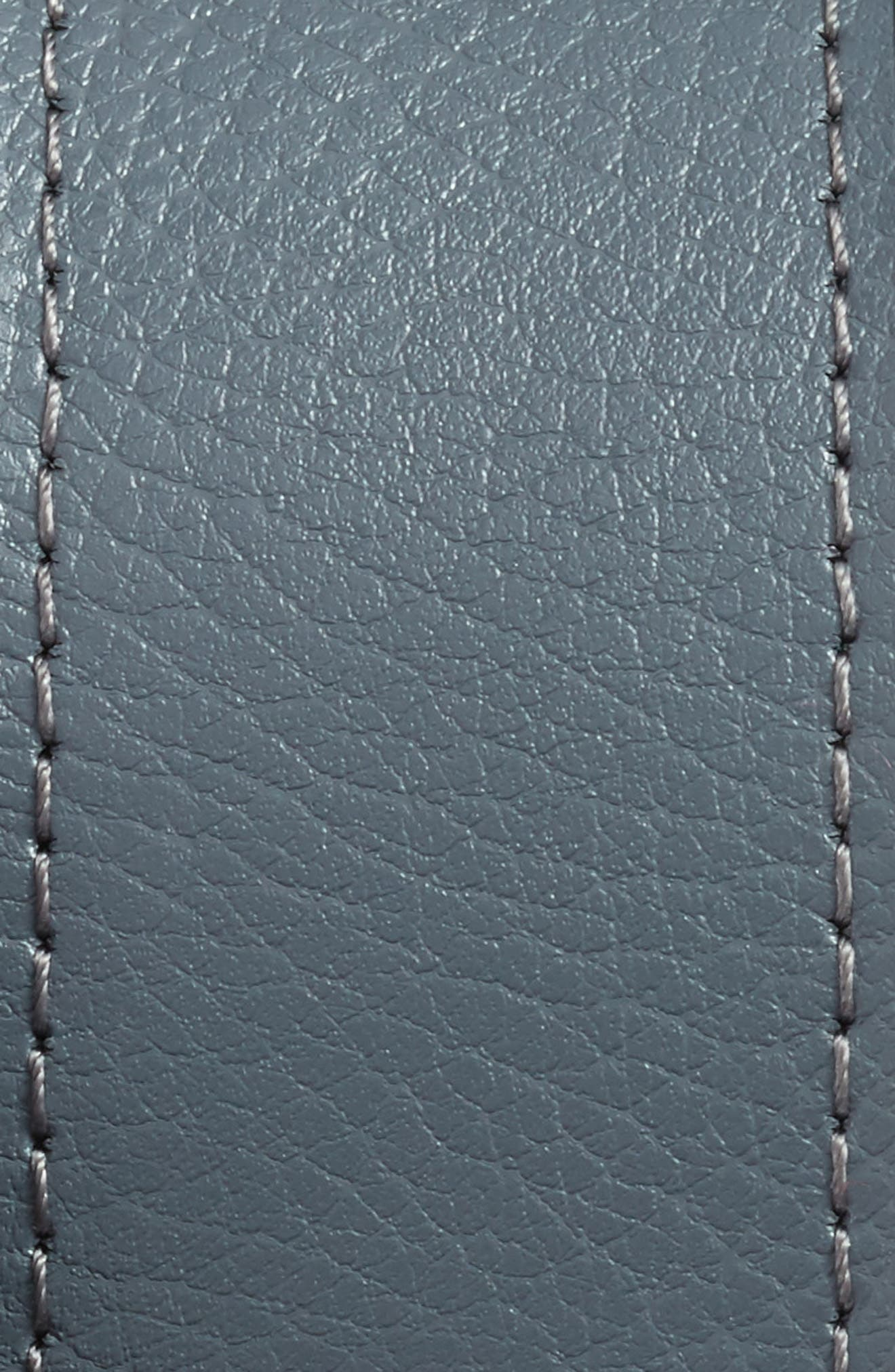 NIKE, Core Reversible Leather Belt, Alternate thumbnail 3, color, DARK GREY