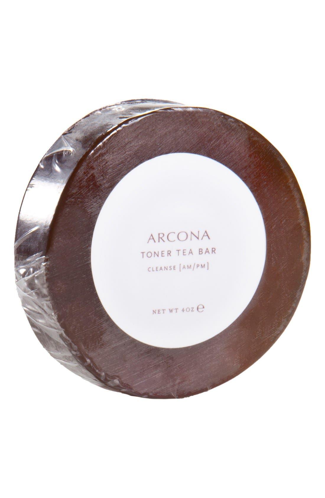 ARCONA Toner Tea Cleansing Bar Refill, Main, color, NO COLOR