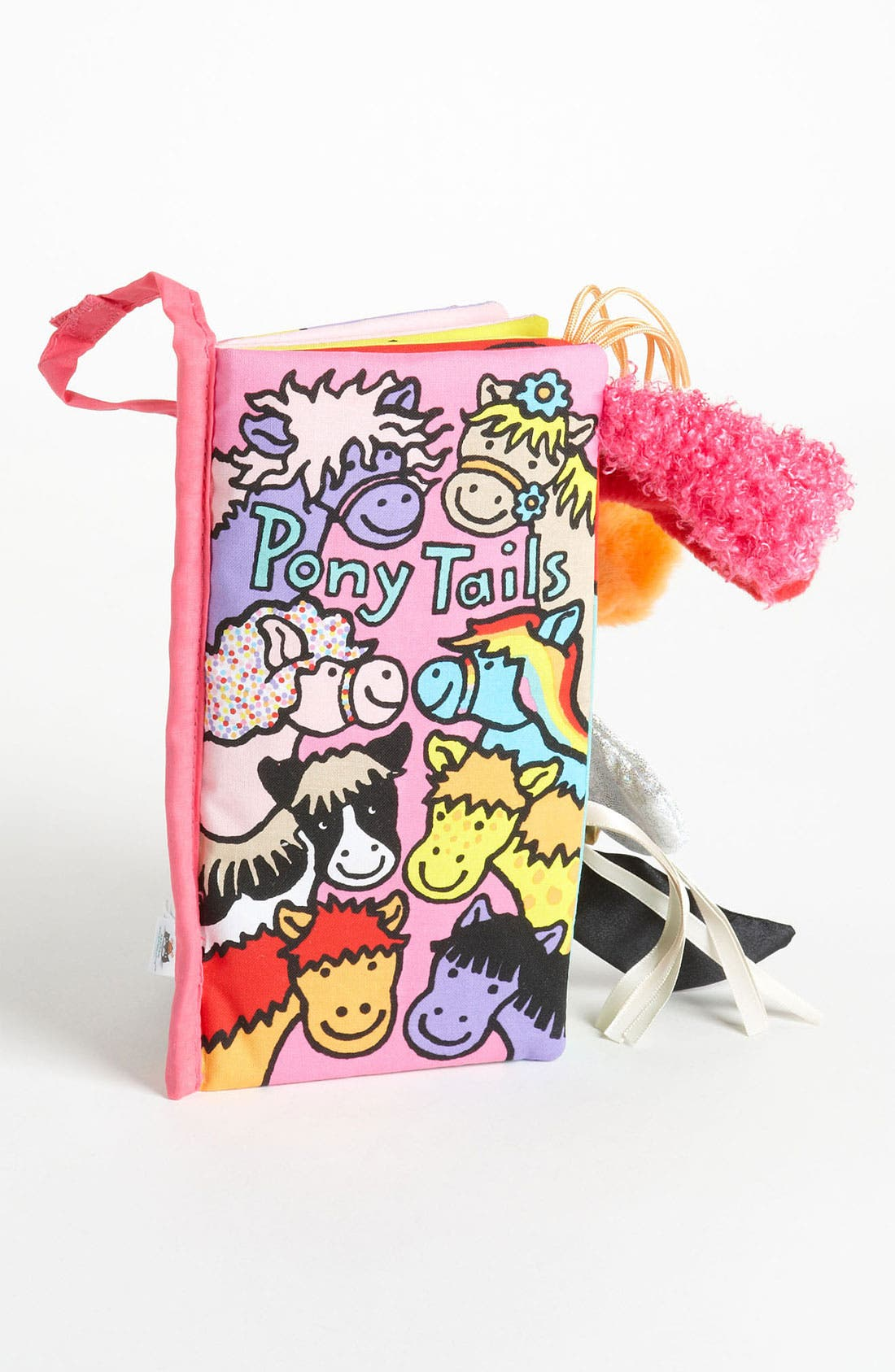 JELLYCAT, 'Pony Tails' Book, Main thumbnail 1, color, 000