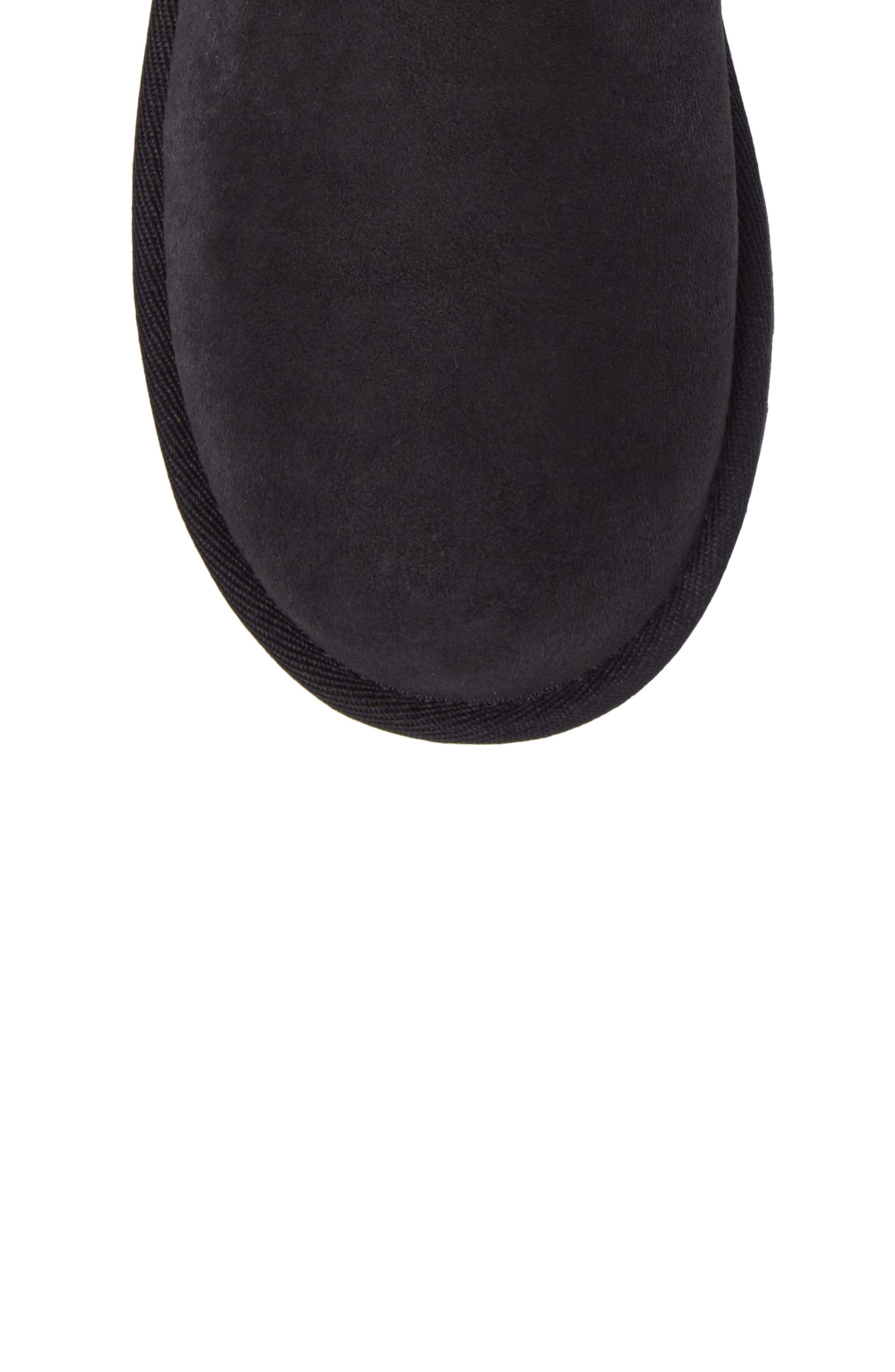 UGG<SUP>®</SUP>, Classic II Water-Resistant Tall Boot, Alternate thumbnail 5, color, BLACK