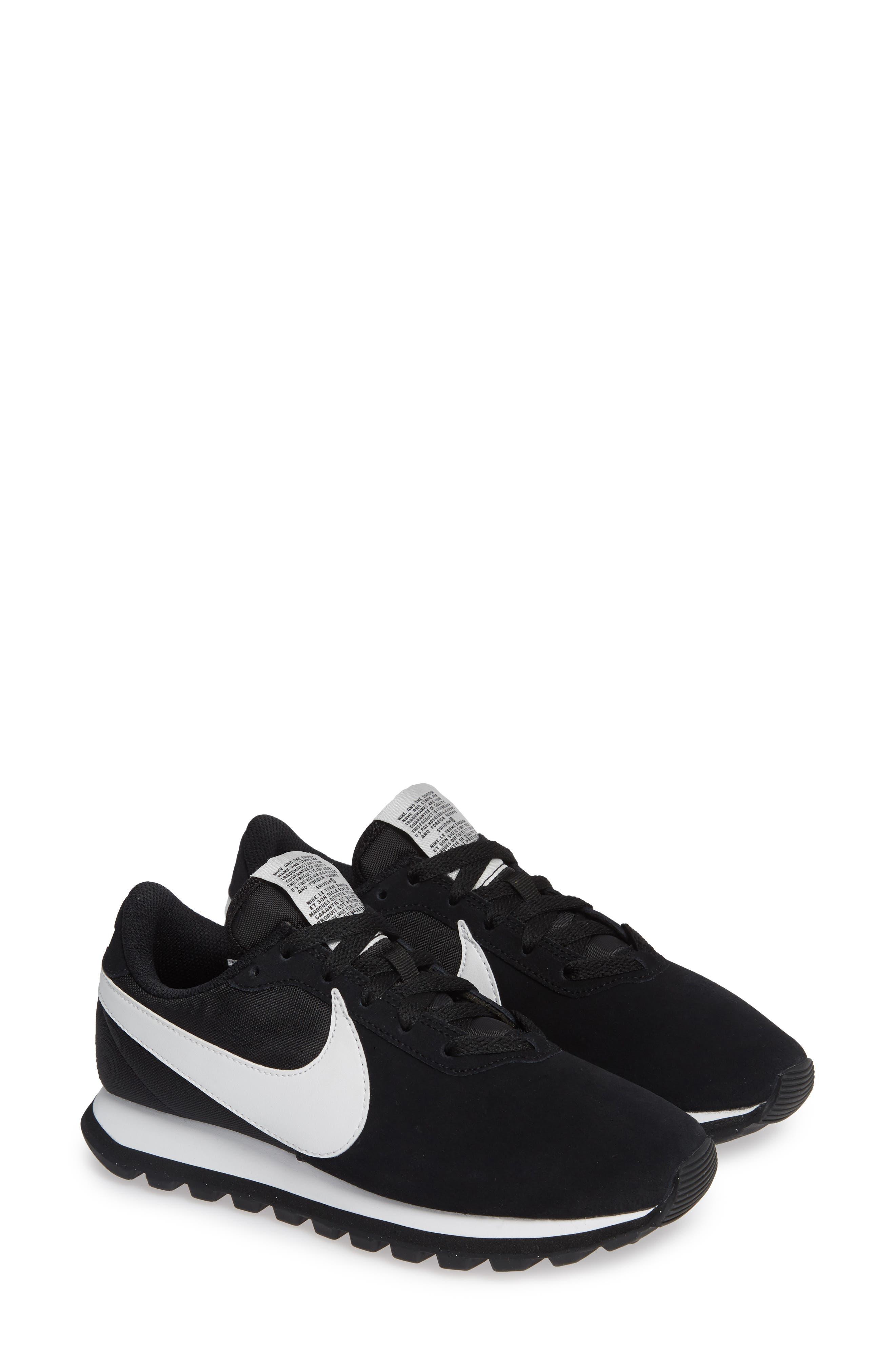 NIKE, Pre Love O.X. Sneaker, Alternate thumbnail 2, color, BLACK/ SUMMIT WHITE