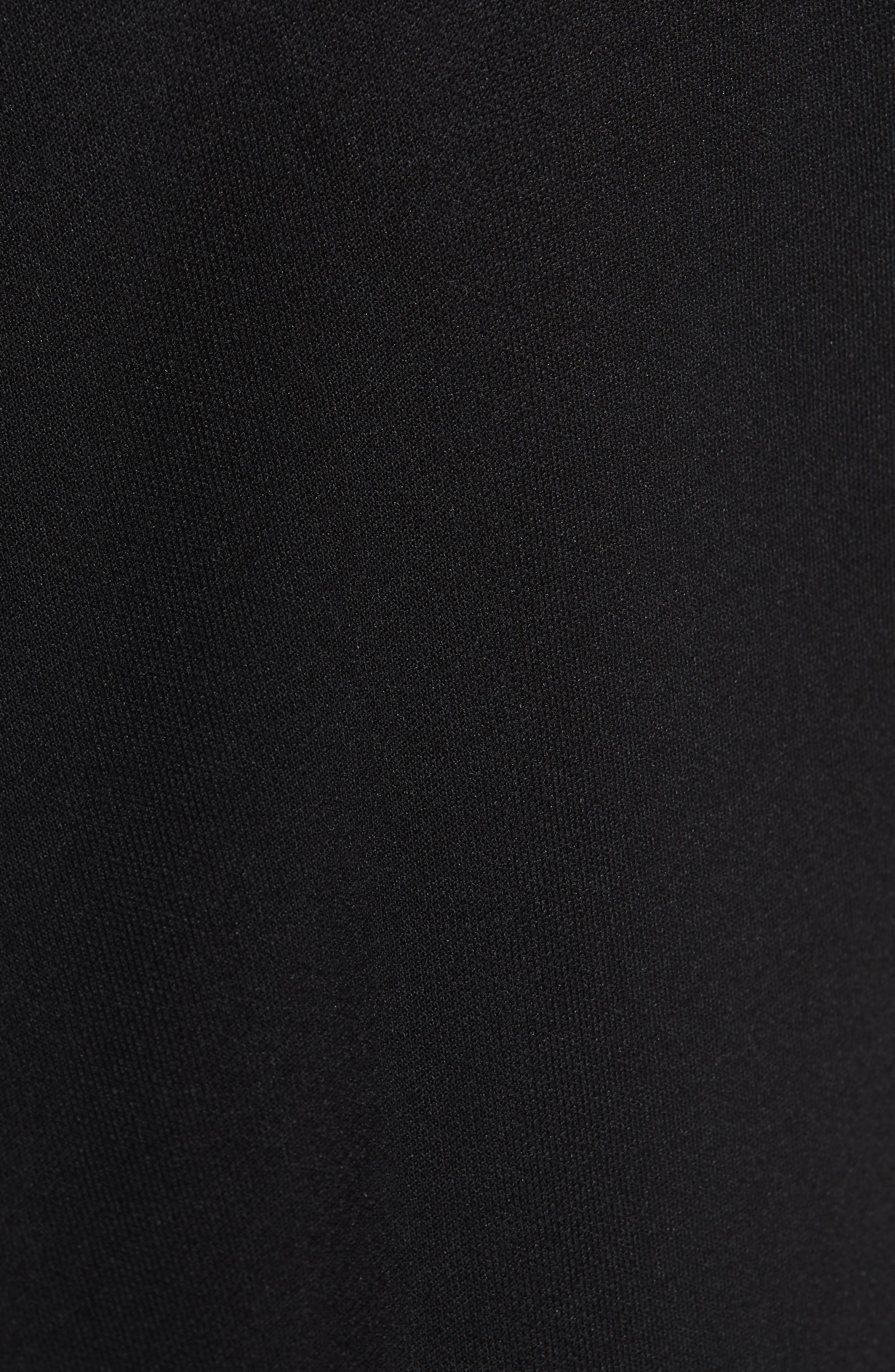 HELMUT LANG, Sport Stripe Sweatpants, Alternate thumbnail 5, color, BLACK AND WHITE