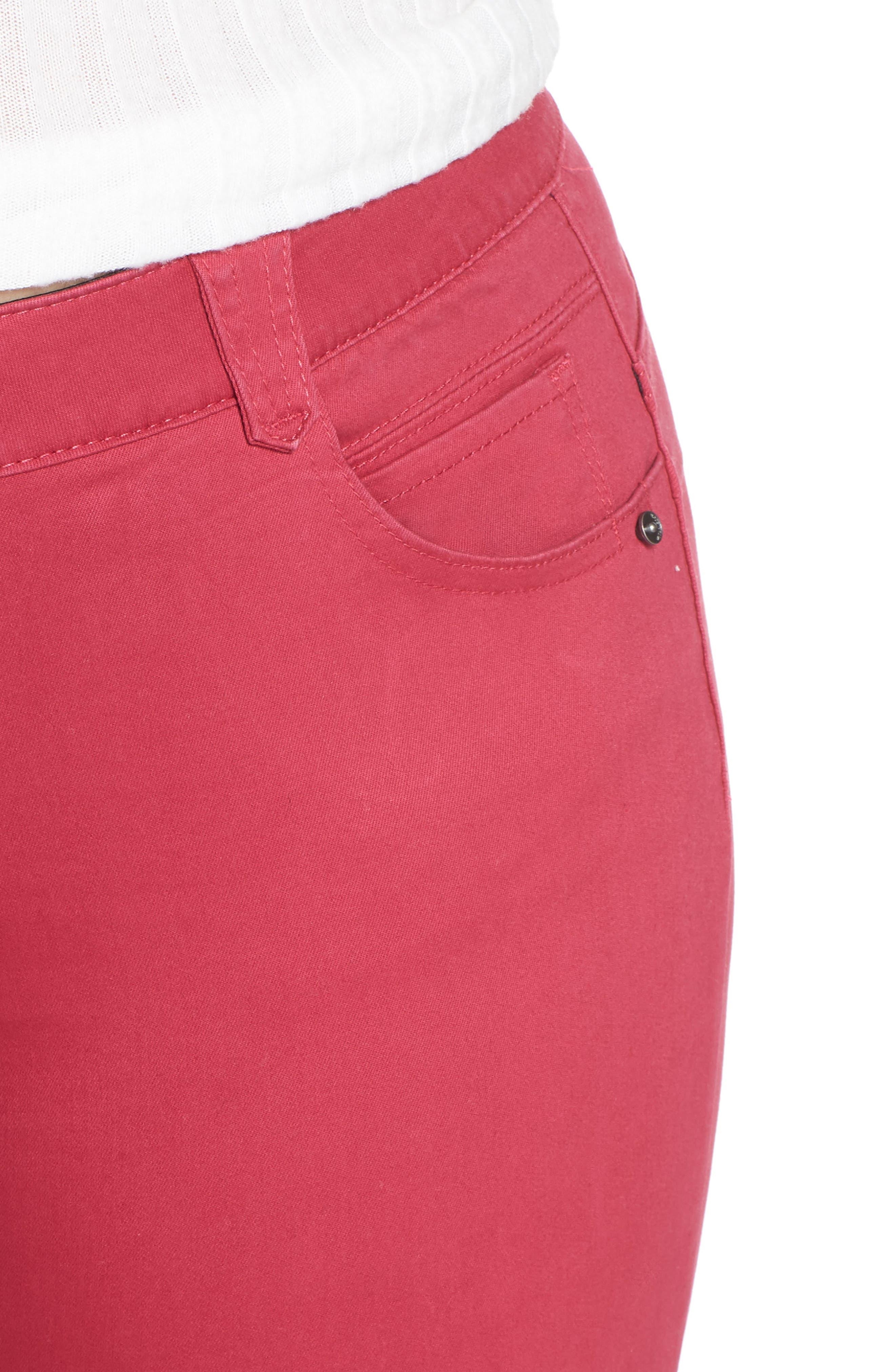 WIT & WISDOM, Ab-Solution Ankle Skimmer Jeans, Alternate thumbnail 5, color, GRANITA
