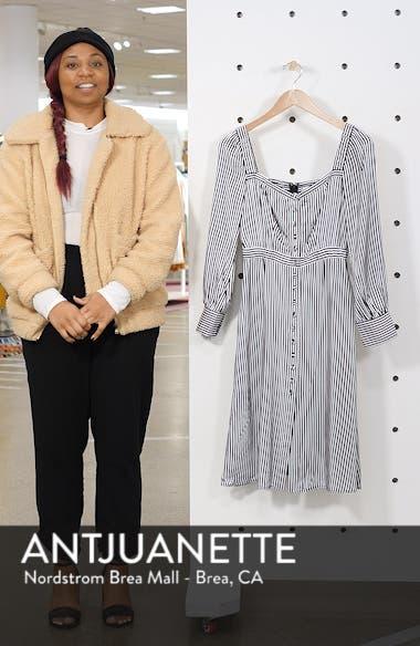 Take Me Downtown Stripe Dress, sales video thumbnail
